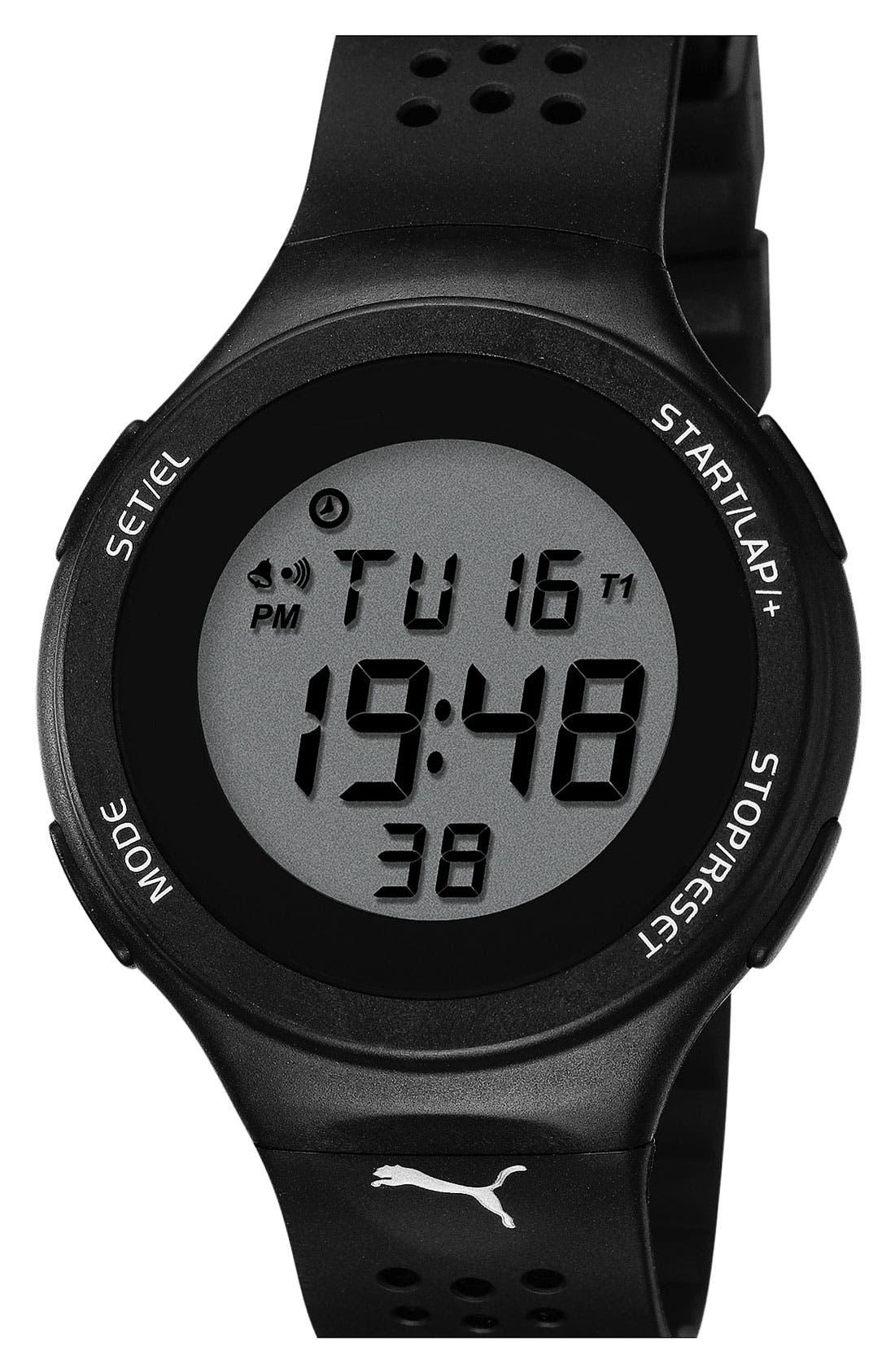 Alternate Image 1 Selected - PUMA 'Faas 200' Digital Sport Watch, 44mm
