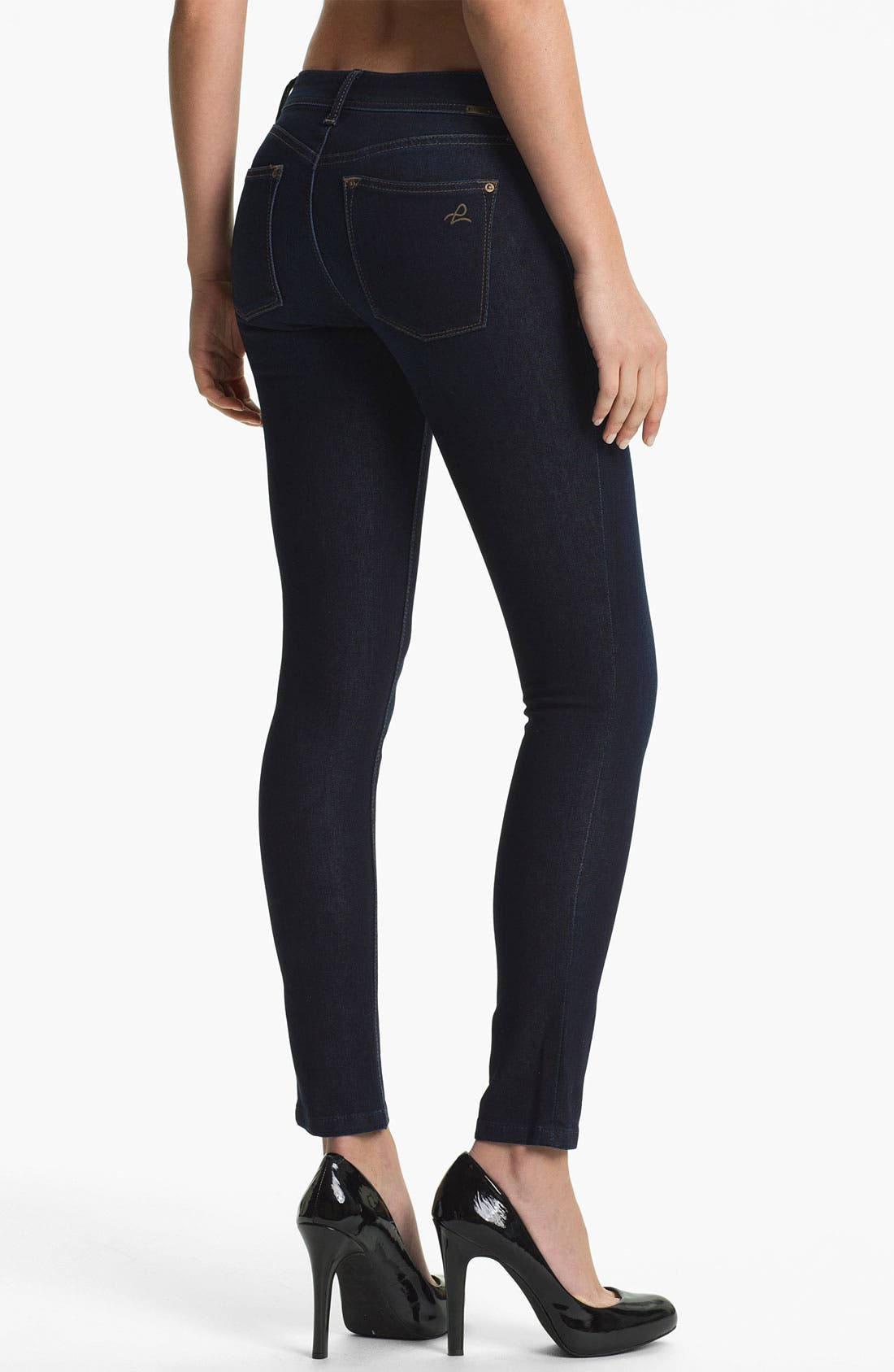 Alternate Image 2  - DL1961 'Emma' X-Fit Stretch Denim Skinny Jeans (Skye)