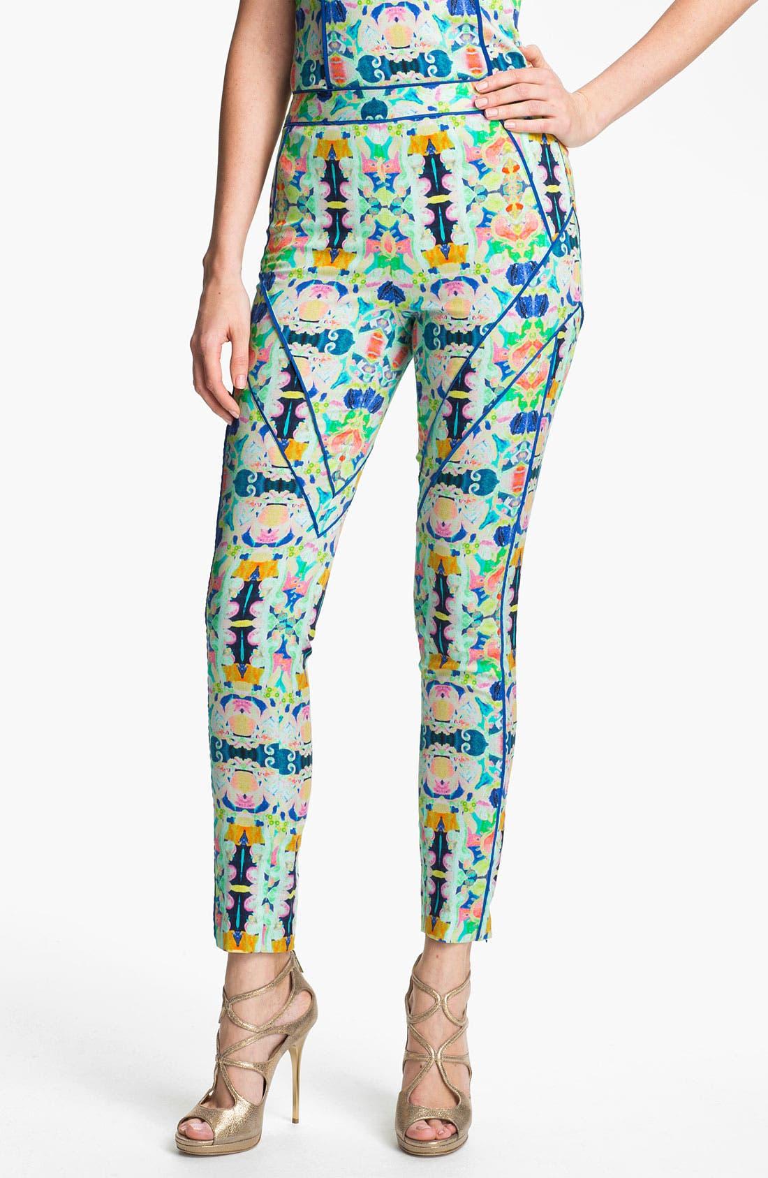 Alternate Image 1 Selected - Milly Crop Skinny Pants