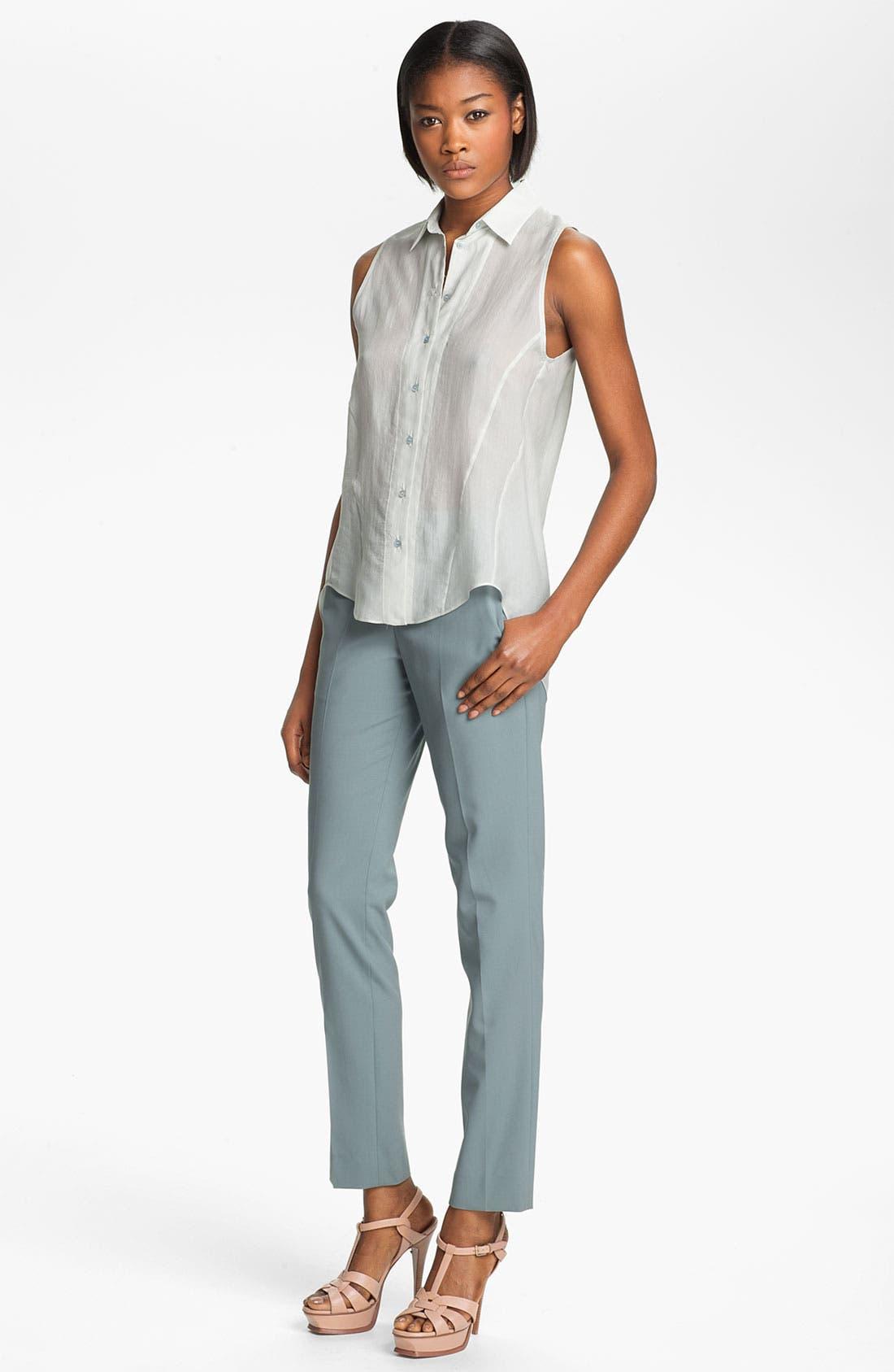 Alternate Image 4  - Theyskens' Theory 'Peete Fruma' Stretch Wool Pants