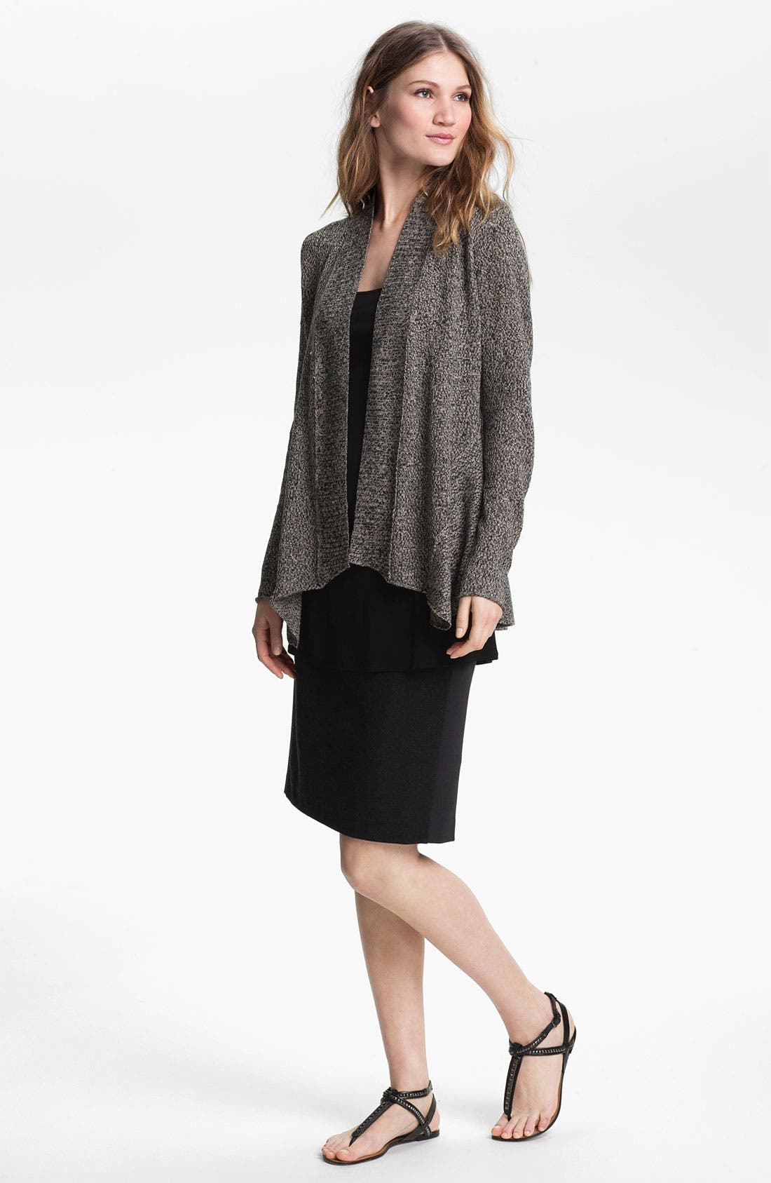 Alternate Image 4  - Eileen Fisher Shaped Cardigan (Online Exclusive)