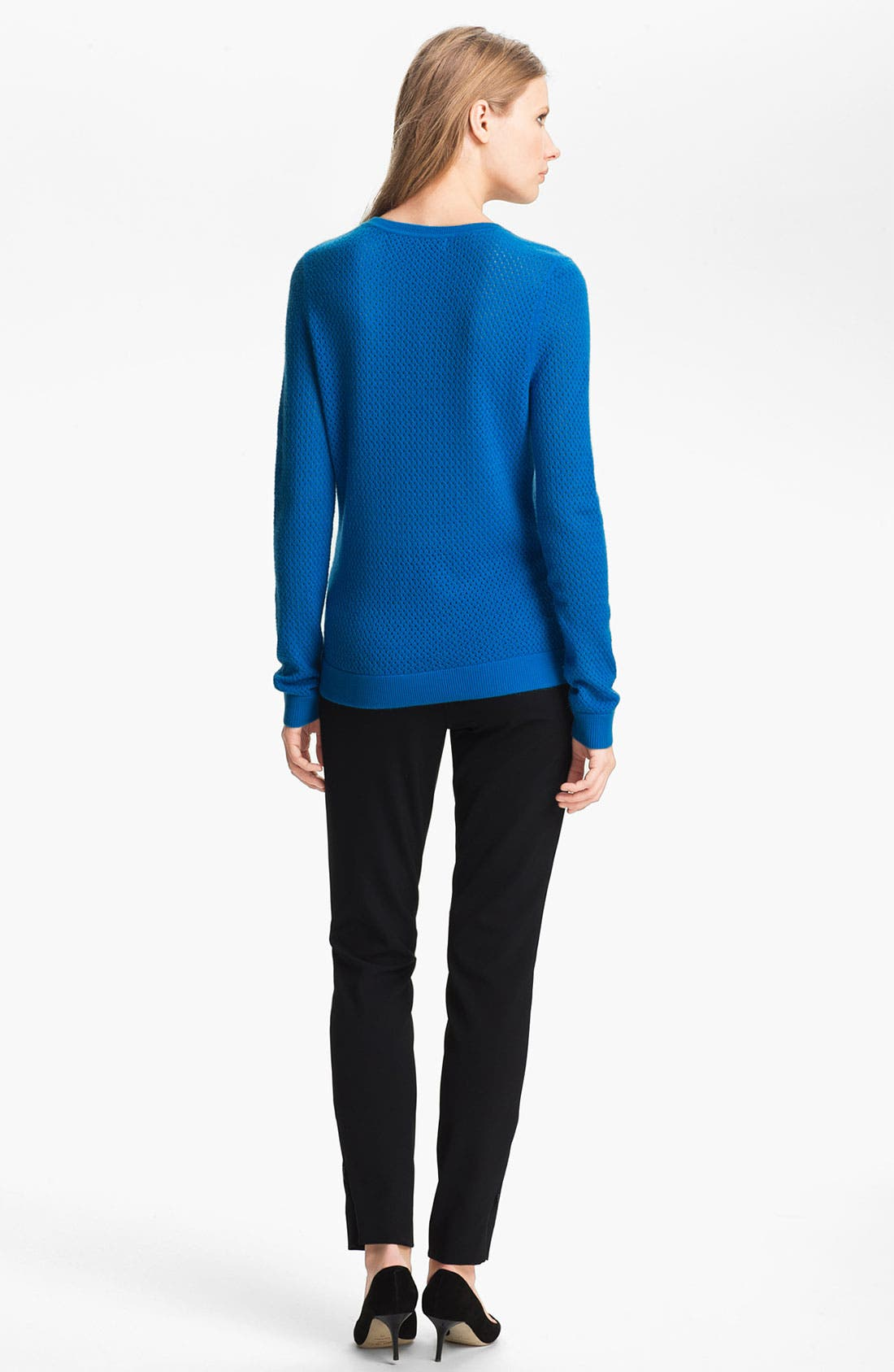 Alternate Image 4  - Miss Wu 'Sofie' Stitch Detail Cashmere Sweater (Nordstrom Exclusive)