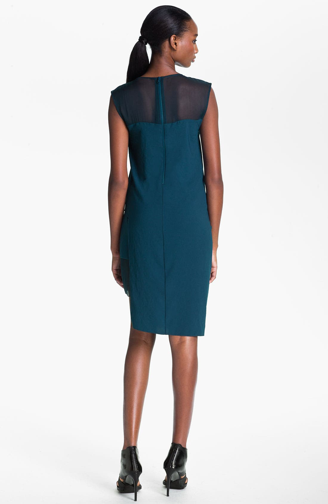 Alternate Image 2  - Helmut Lang Draped Crepe Dress