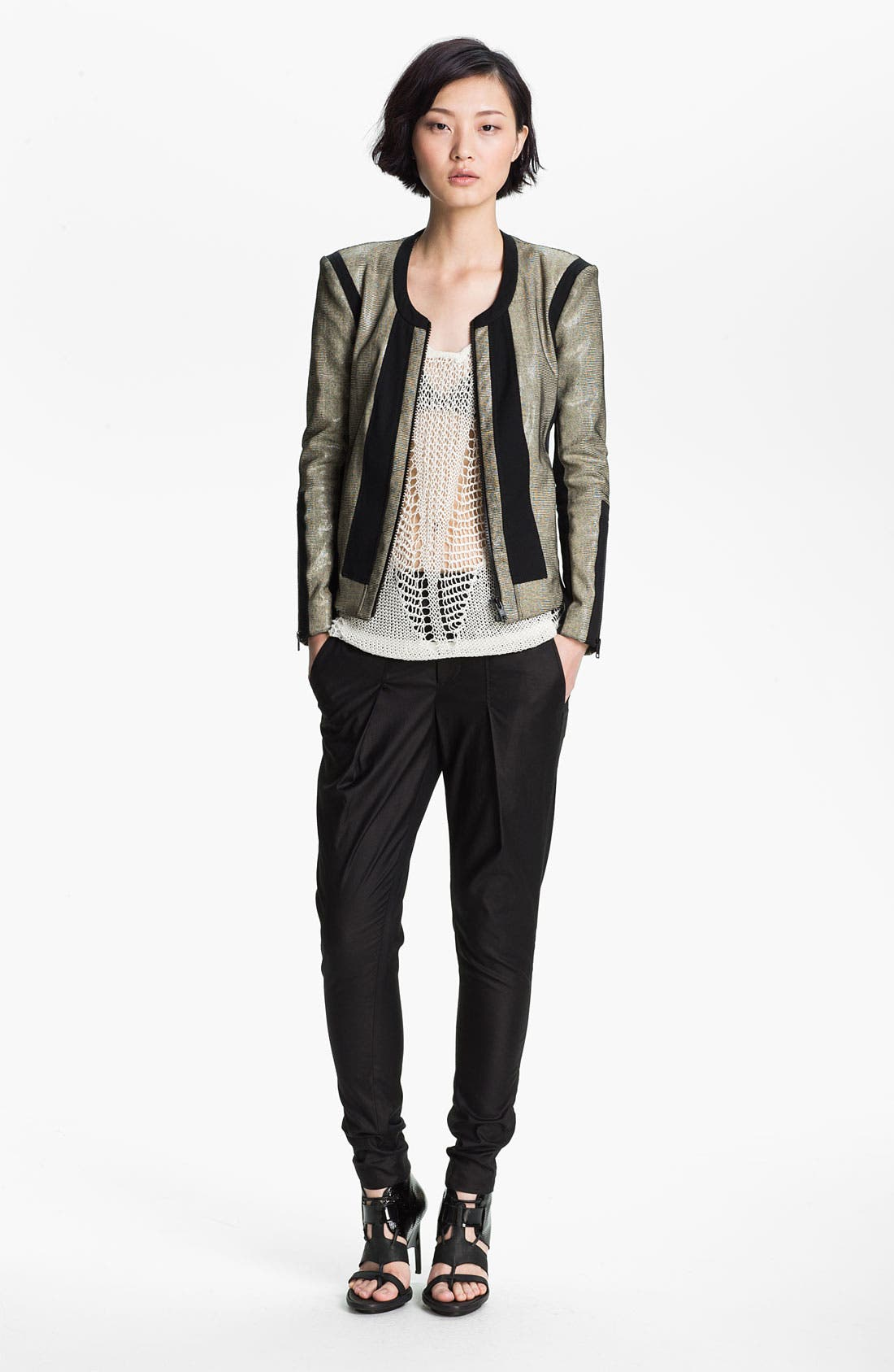 Alternate Image 4  - Helmut Lang 'Lacquer' Trousers