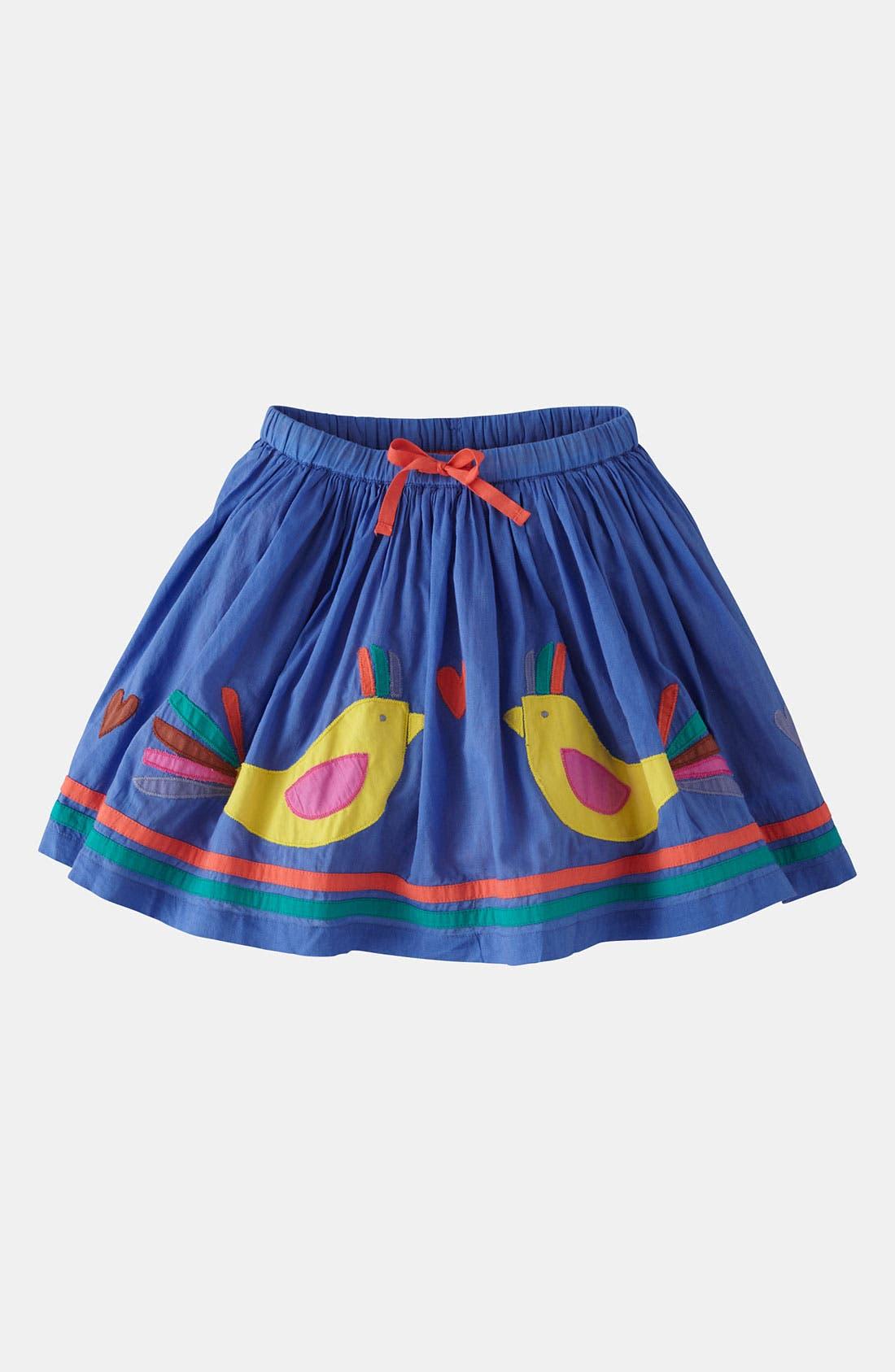 Alternate Image 1 Selected - Mini Boden 'Decorative' Skirt (Little Girls & Big Girls)