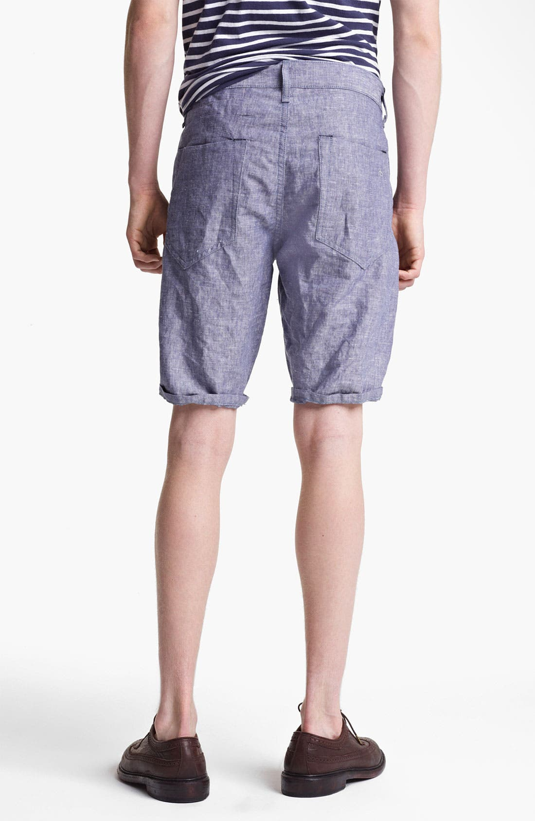 Alternate Image 2  - rag & bone 'Blade' Chambray Shorts