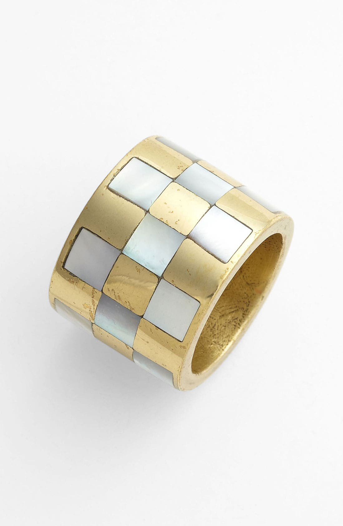 Main Image - Kelly Wearstler Checkerboard Inlay Ring