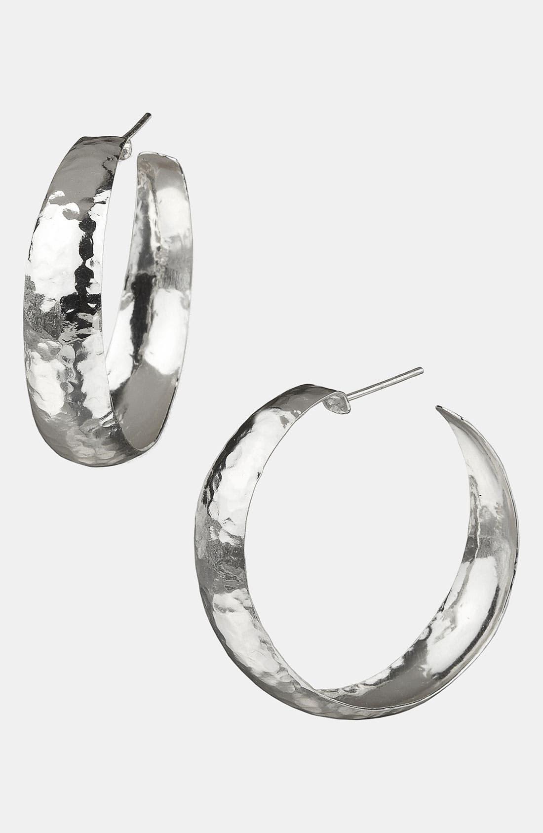Main Image - Argento Vivo Hoop Earrings (Nordstrom Exclusive)