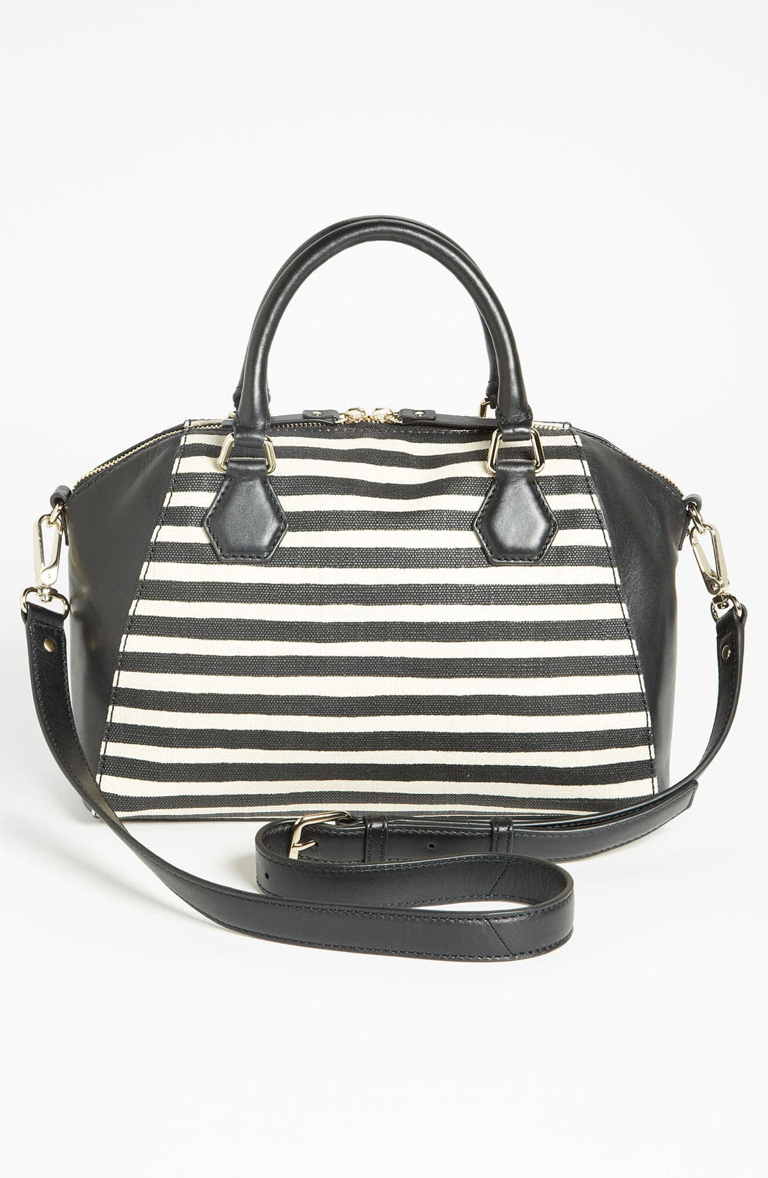 Alternate Image 4  - kate spade new york 'catherine street - pippa' stripe satchel