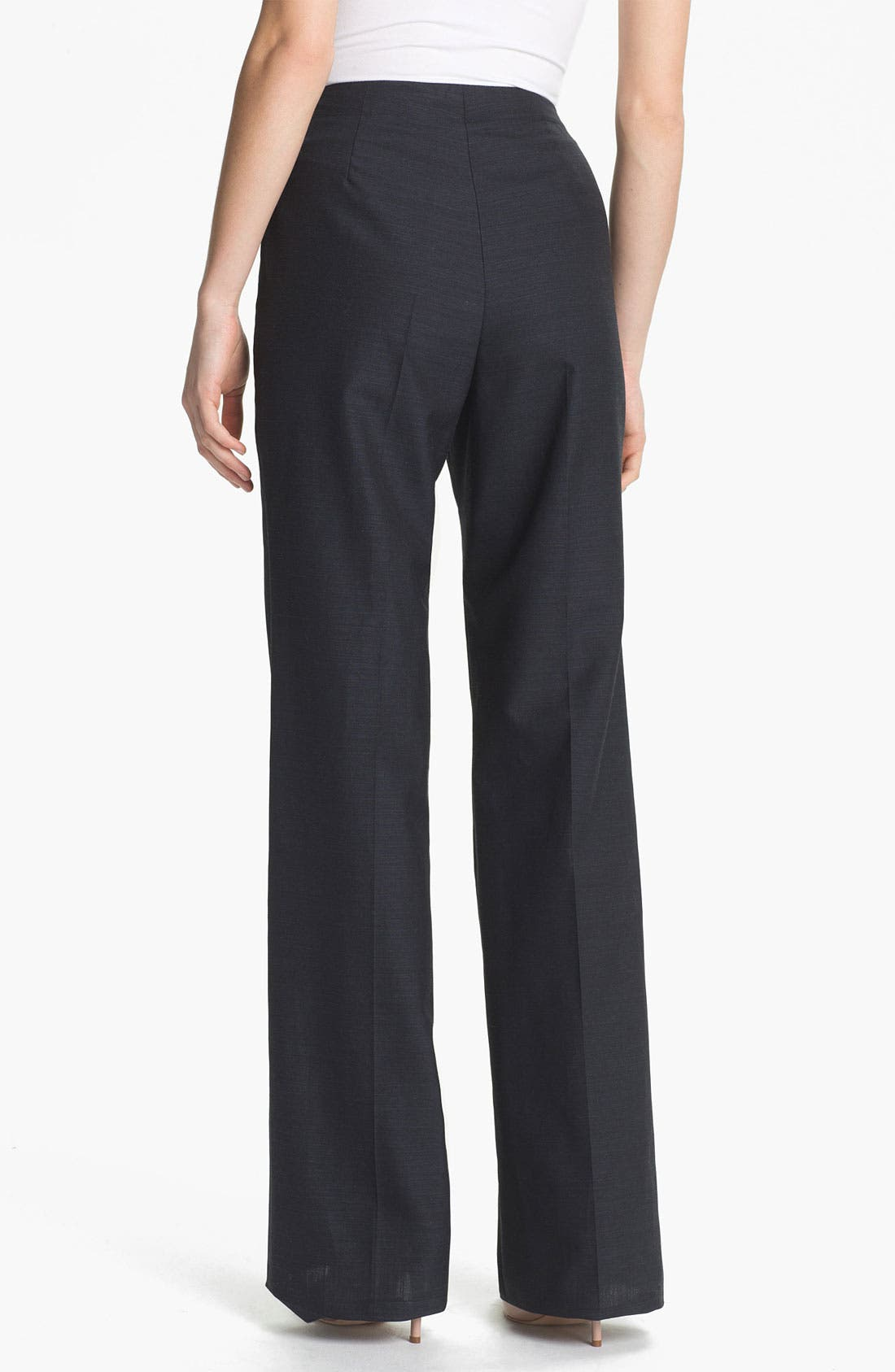 Alternate Image 2  - Santorelli 'Gabriella' Wool Blend Trousers
