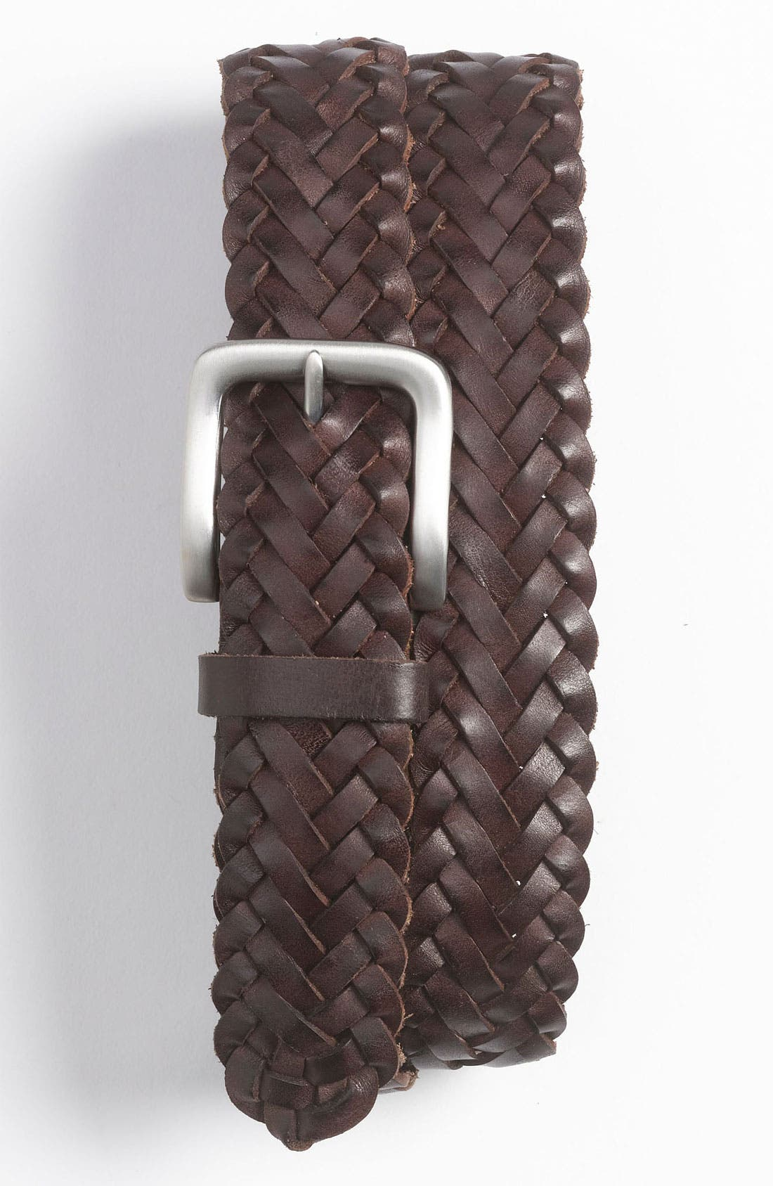 Main Image - Nordstrom Braided Leather Belt