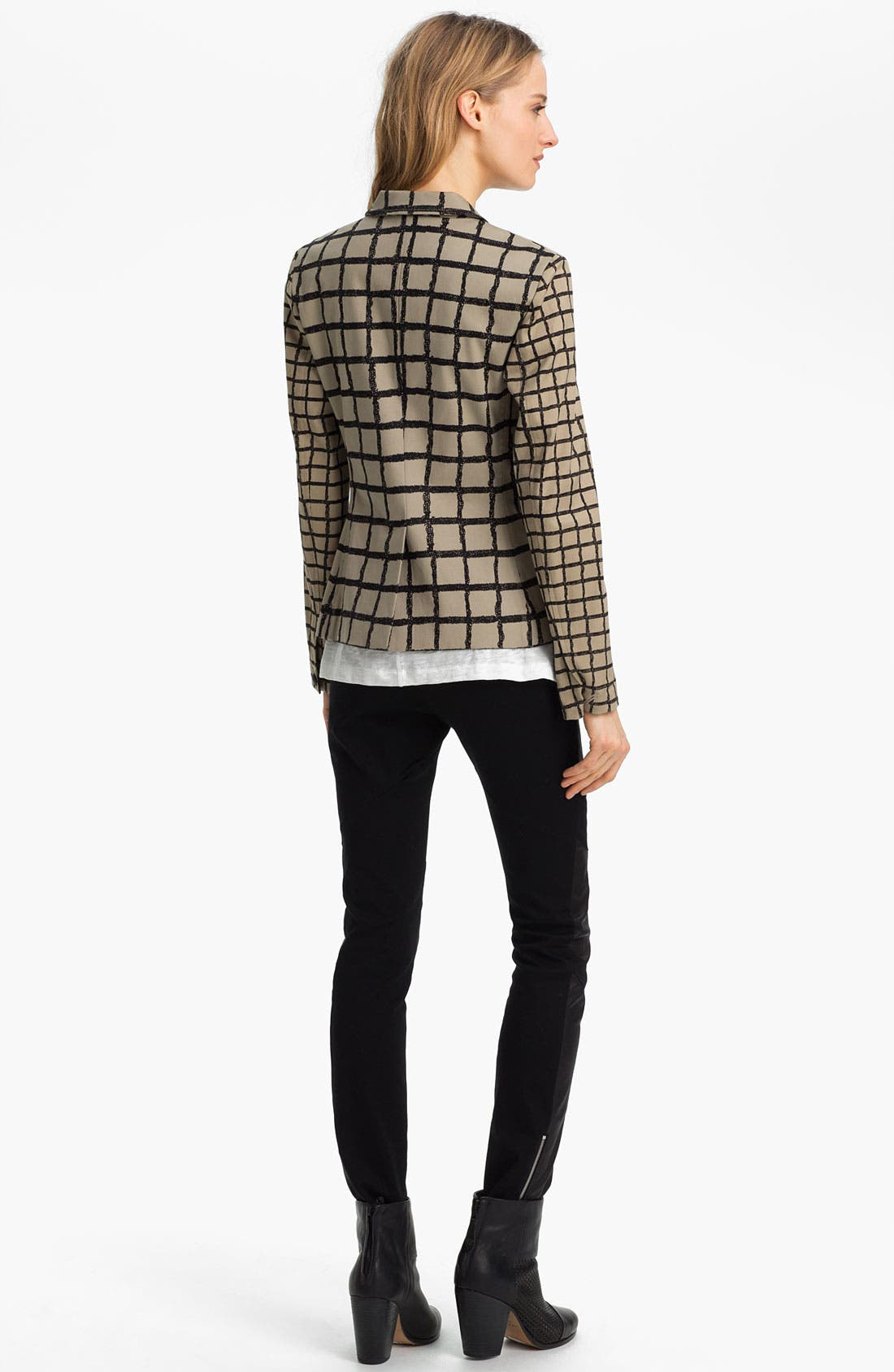 Alternate Image 4  - rag & bone 'Bailey' Windowpane Jacket