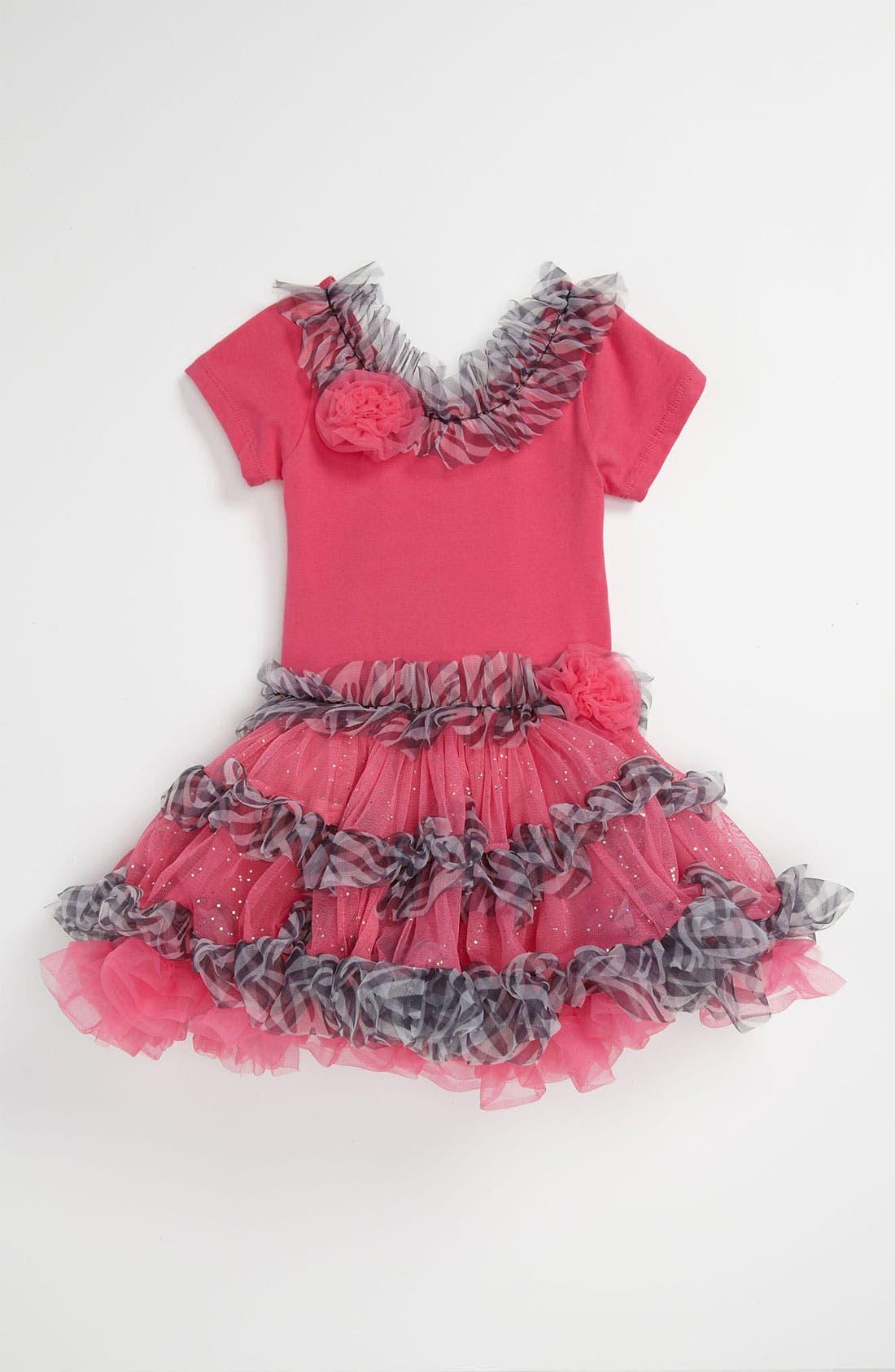 Alternate Image 1 Selected - Popatu Petticoat Dress (Toddler)