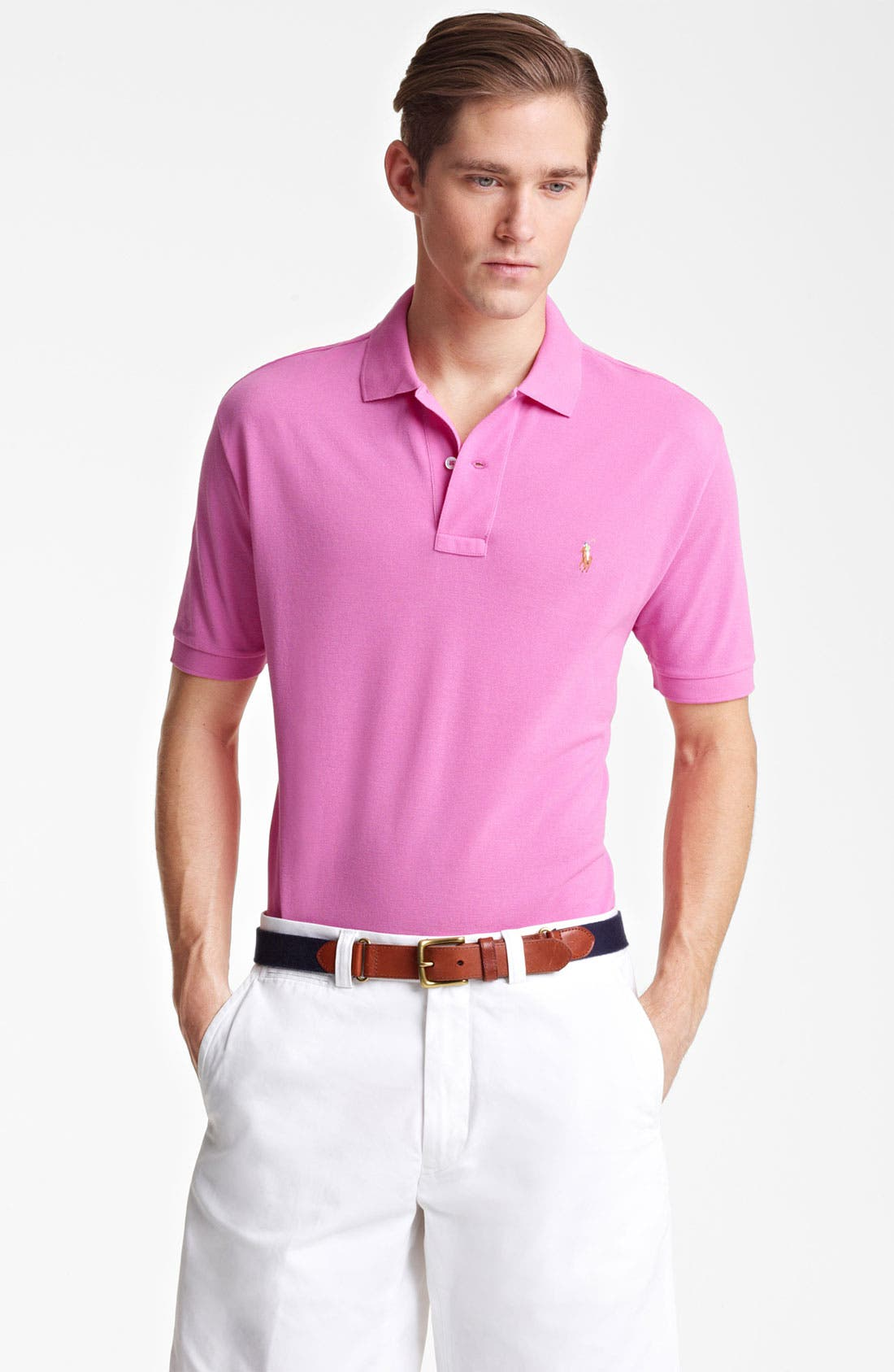 Main Image - Polo Ralph Lauren Custom Fit Polo