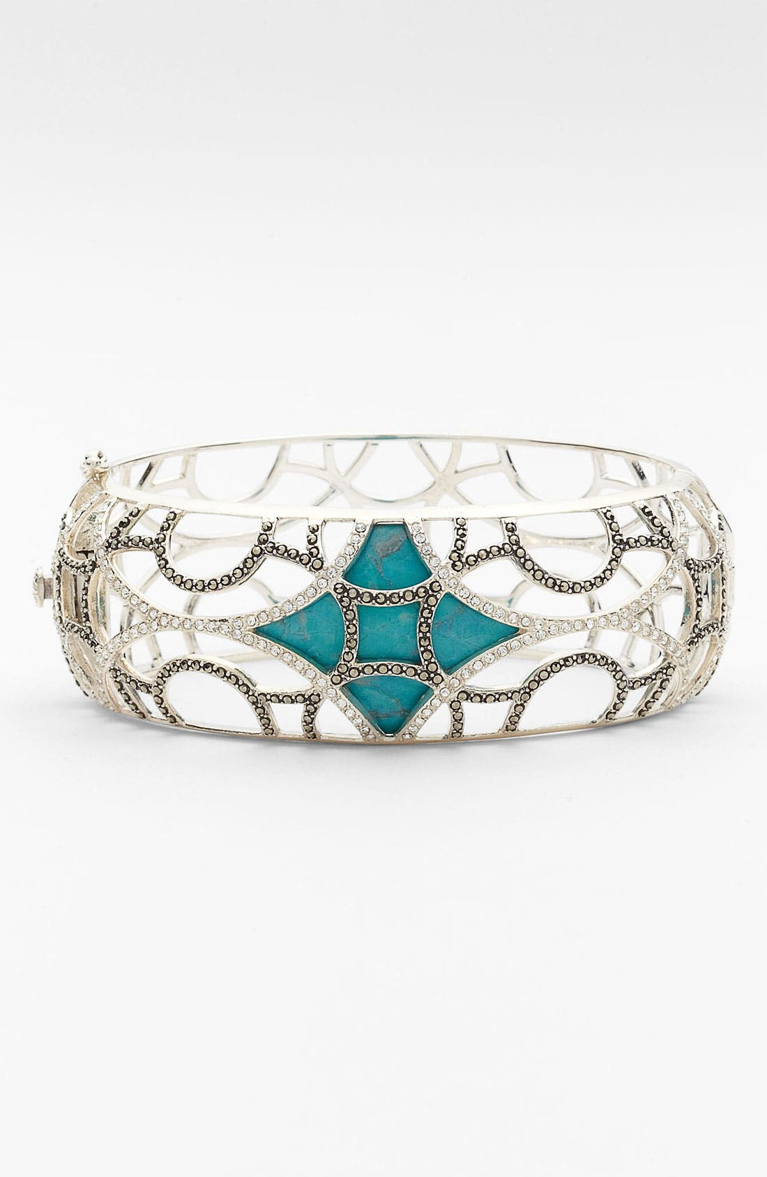 Main Image - Judith Jack 'Turq' Hinged Bracelet