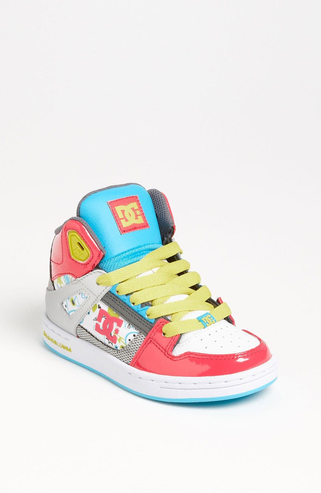 Main Image - DC Shoes 'Rebound' Skate Shoe (Toddler, Little Kid & Big Kid)