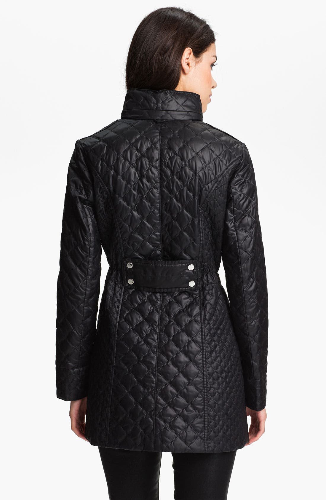 Alternate Image 2  - Laundry by Shelli Segal Packable Quilted Coat