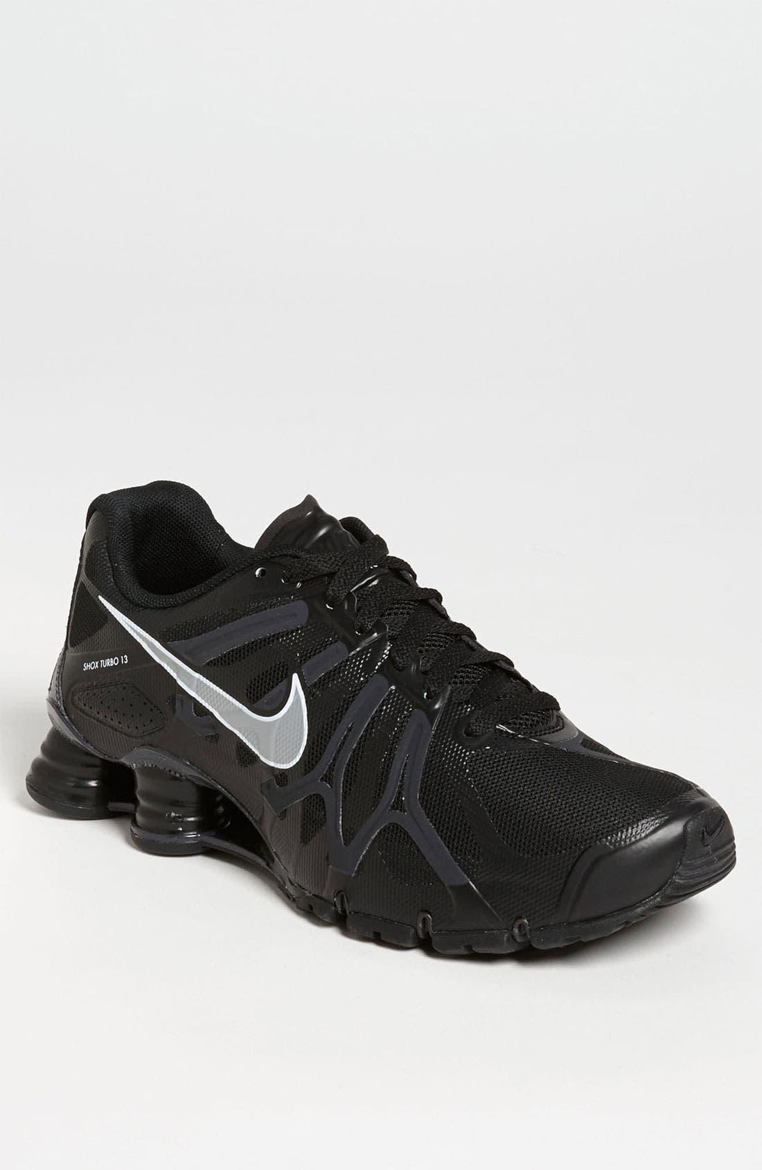 Alternate Image 1 Selected - Nike 'Shox Turbo+ 13' Running Shoe (Men)