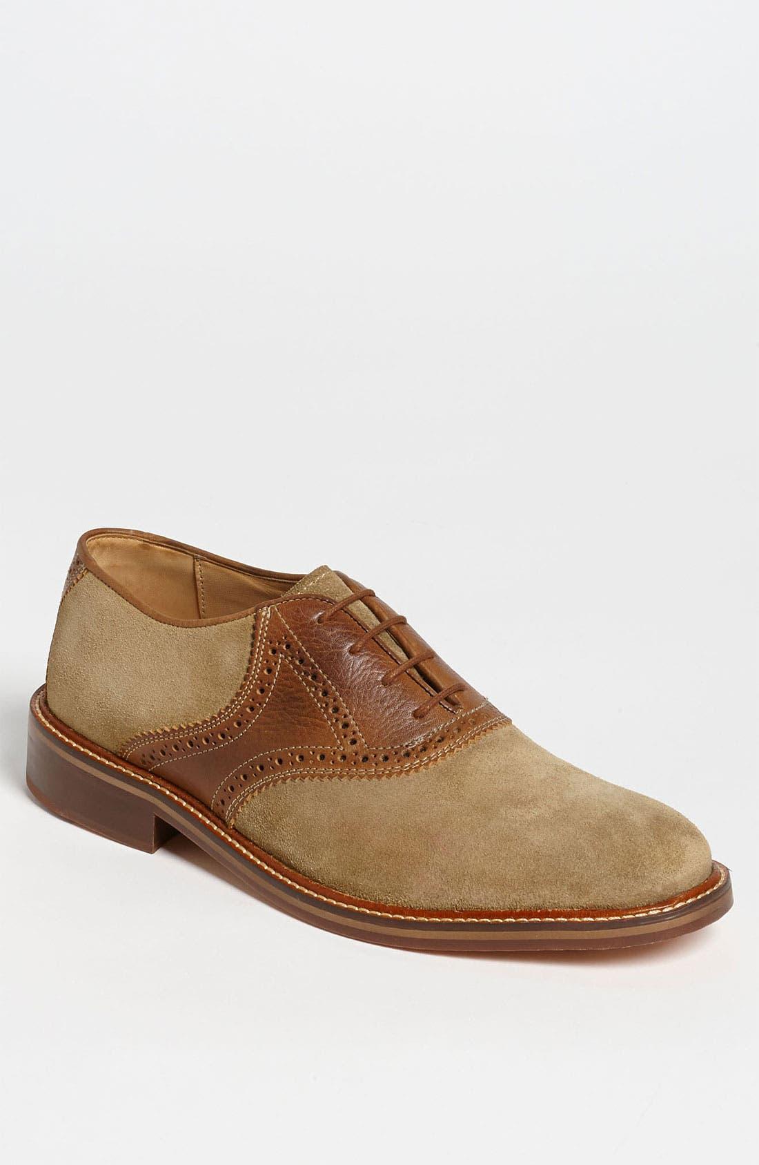 Alternate Image 1 Selected - Martin Dingman 'George' Saddle Shoe