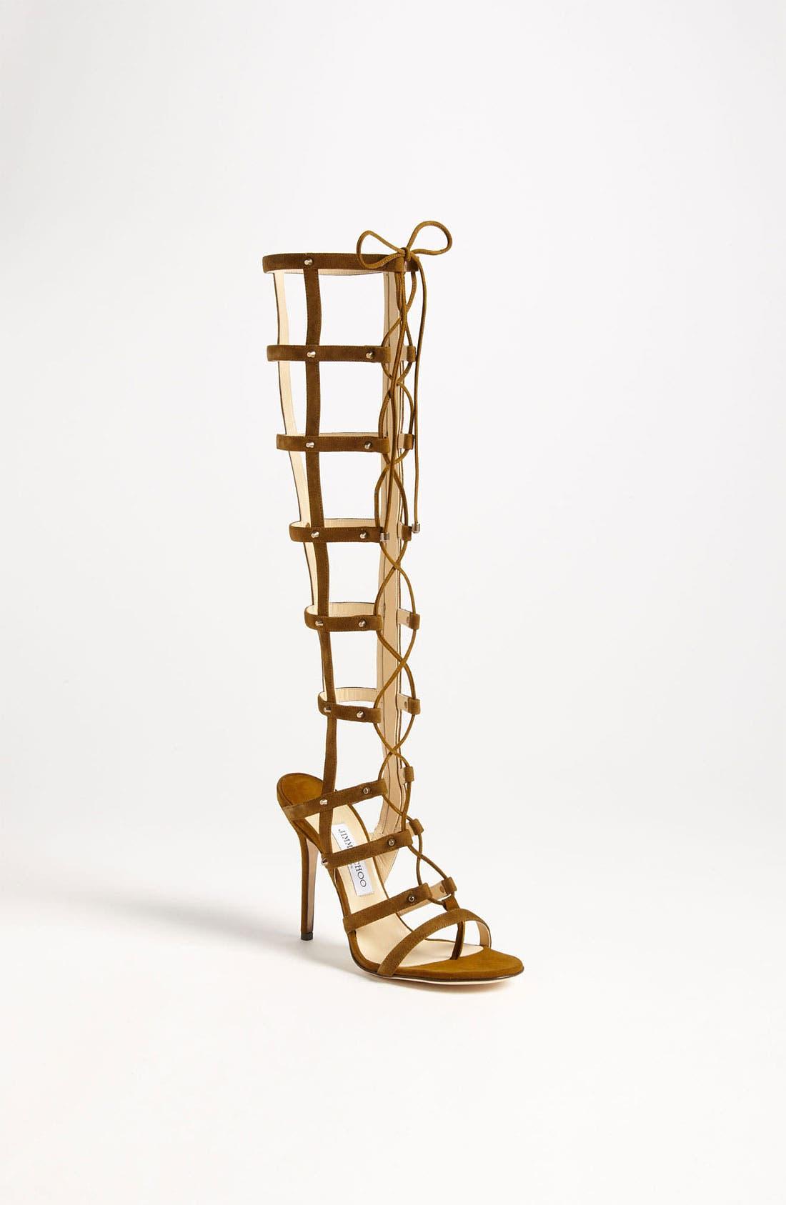 Main Image - Jimmy Choo 'Mogul' Caged Sandal Boot