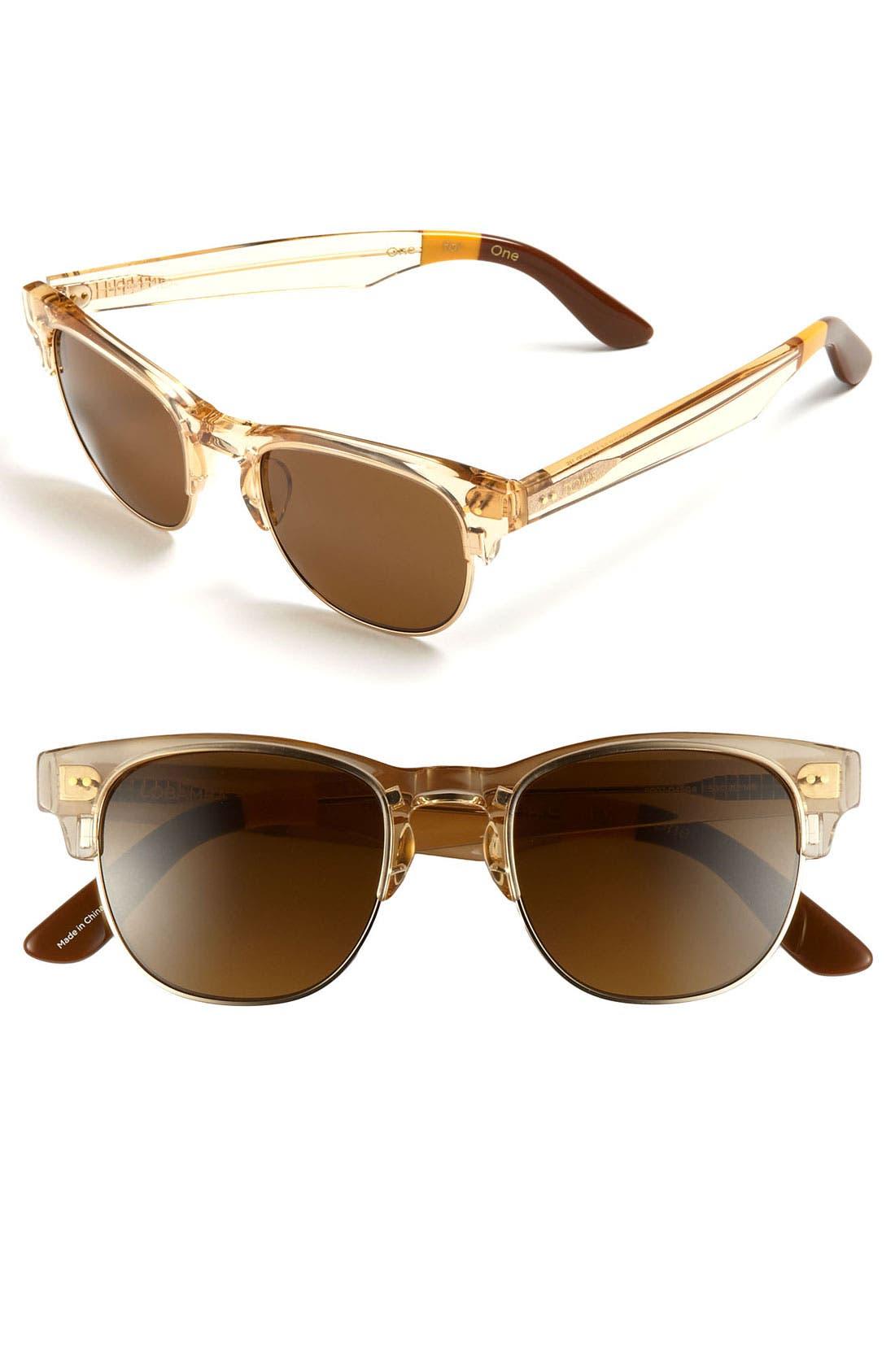 Alternate Image 1 Selected - TOMS 'Modern' Retro 50mm Sunglasses