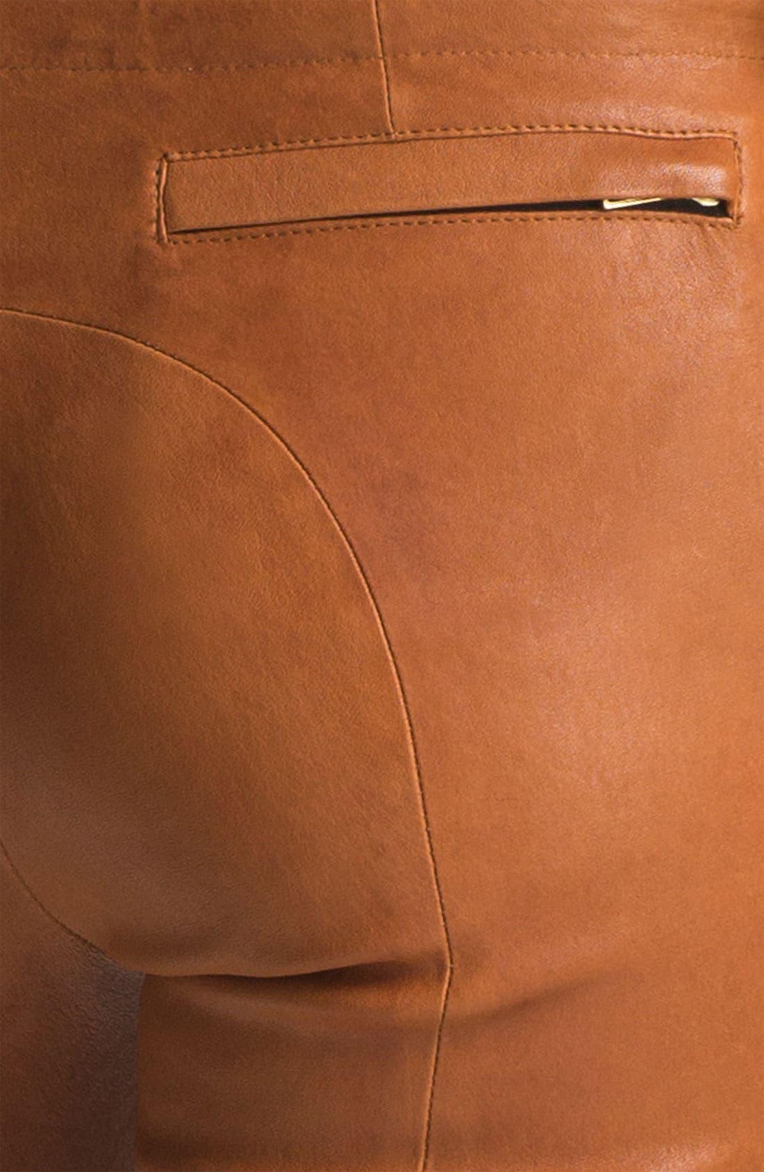Alternate Image 3  - A.L.C. Leather Pants