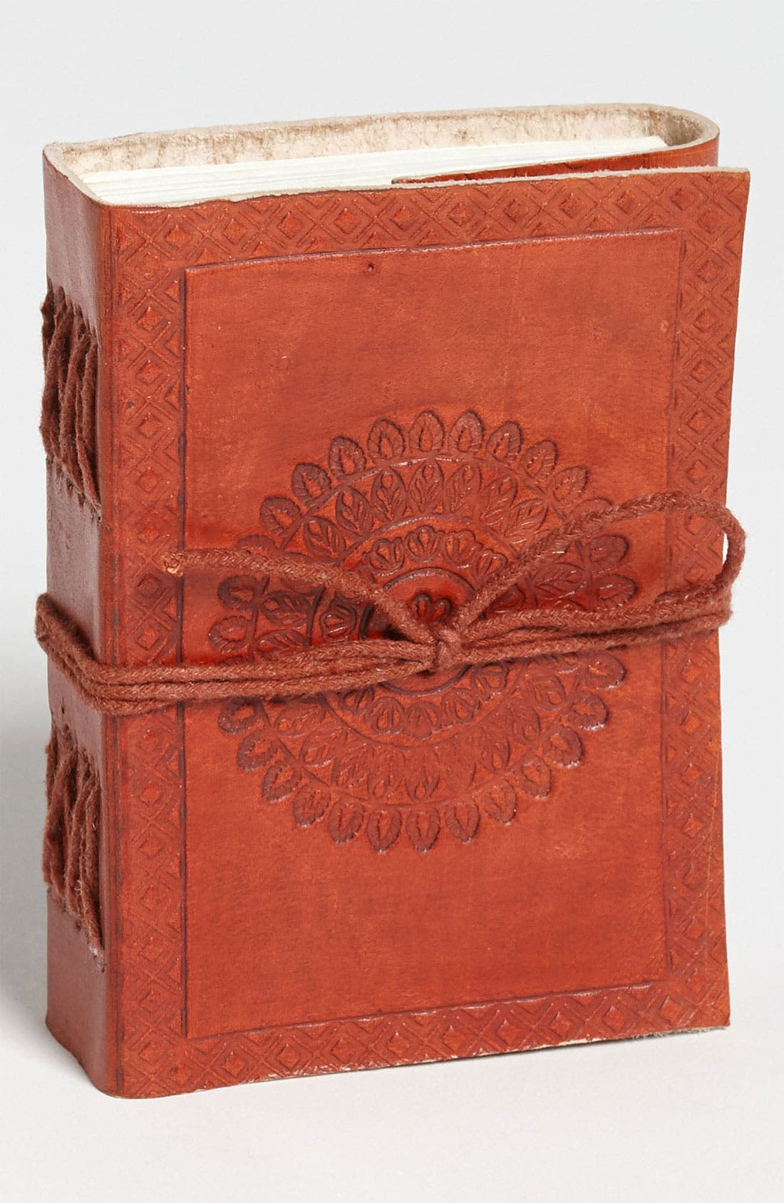 Alternate Image 1 Selected - Leather-Bound Traveler's Notebook, Small