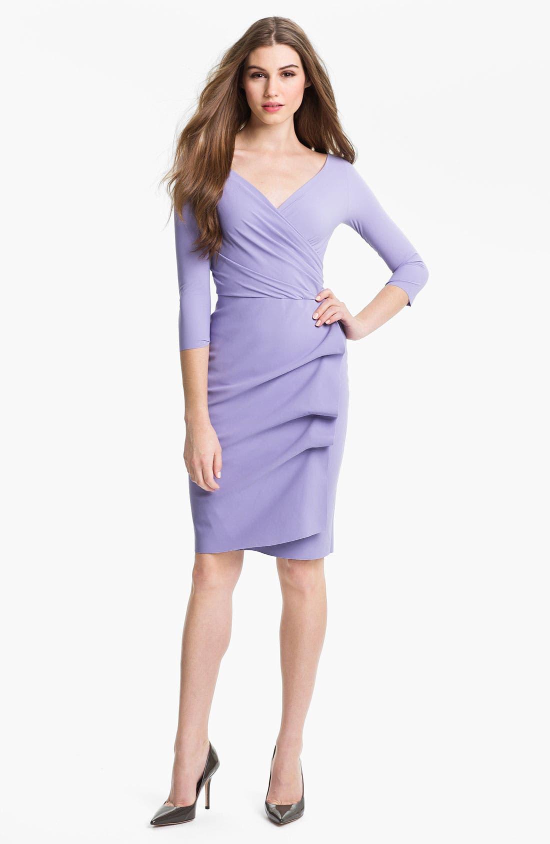Main Image - La Petite Robe by Chiara Boni 'Florien' Draped Dress