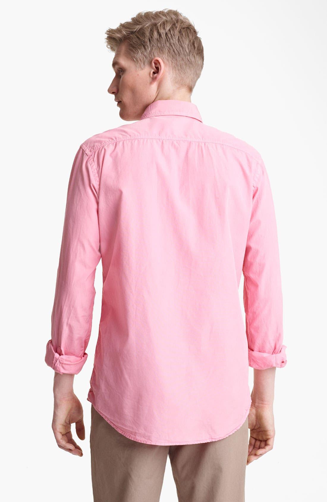 Alternate Image 2  - Save Khaki Poplin Shirt