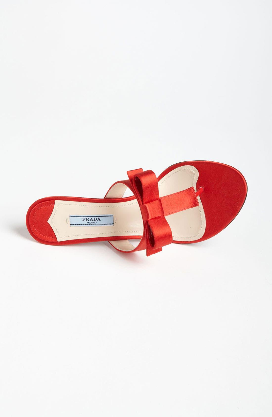 Alternate Image 3  - Prada Bow Thong Sandal
