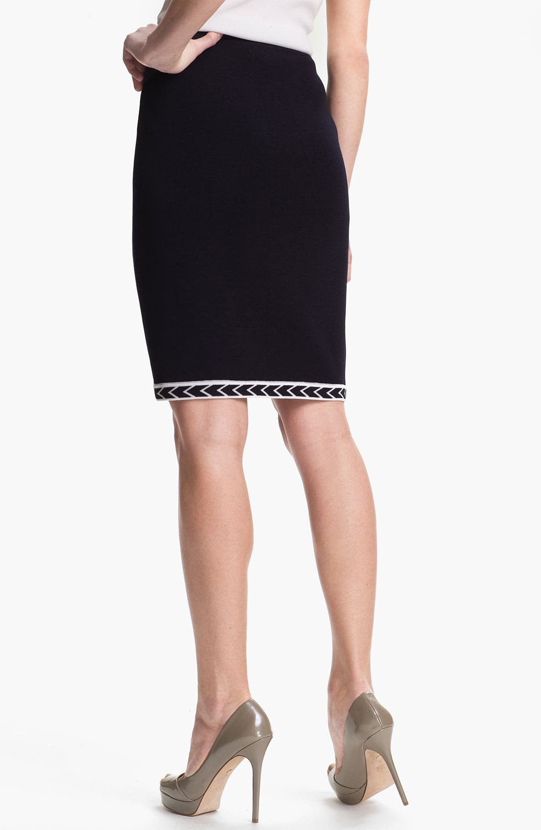 Alternate Image 2  - Exclusively Misook 'Adrienne' Skirt (Petite) (Online Only)
