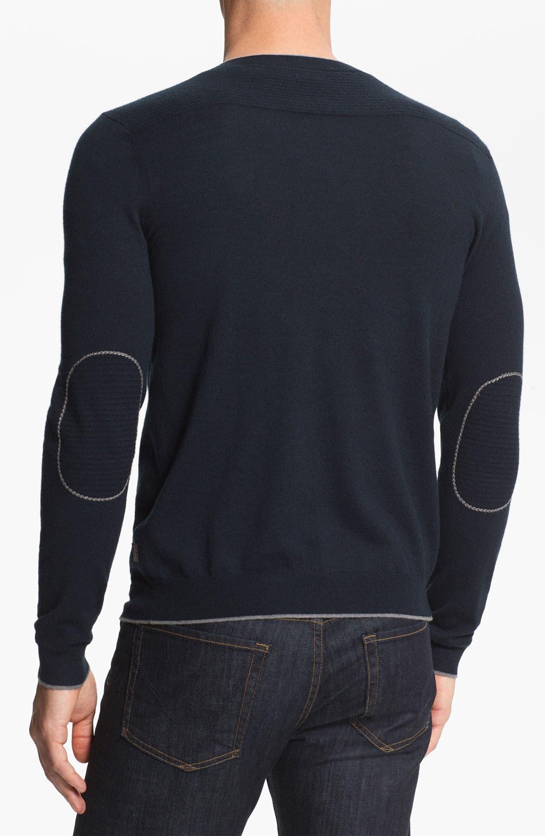 Alternate Image 2  - BOSS Black 'Gary' V-Neck Sweater