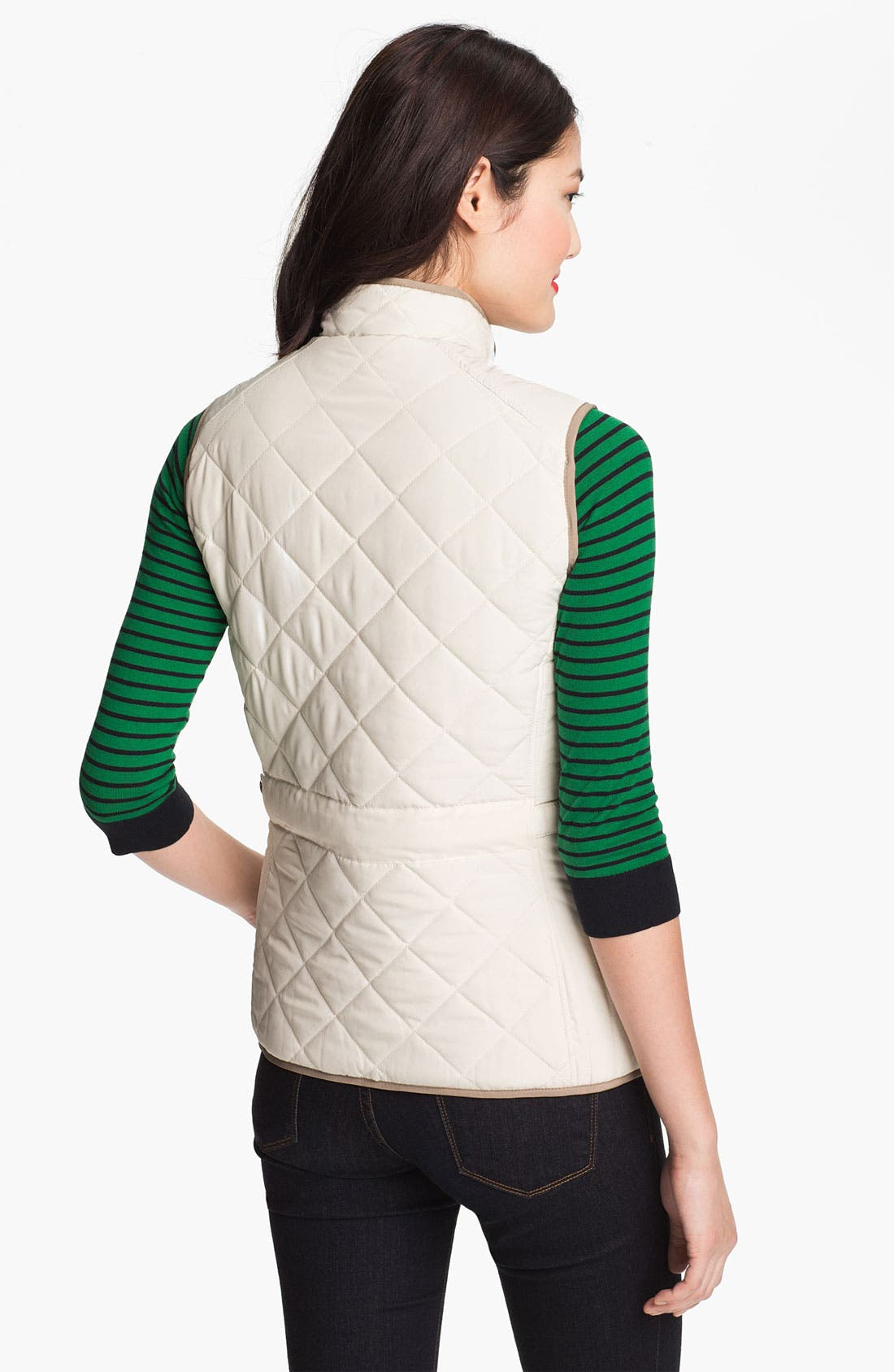 Alternate Image 3  - Weatherproof® Reversible Quilted Vest (Online Only)