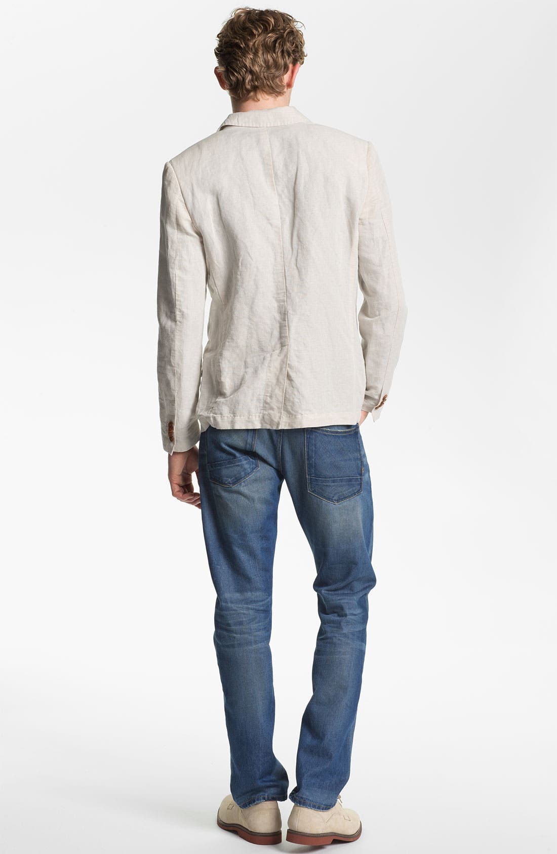 Alternate Image 6  - Scotch & Soda 'Ralston' Slim Straight Leg Jeans (Trump Town)
