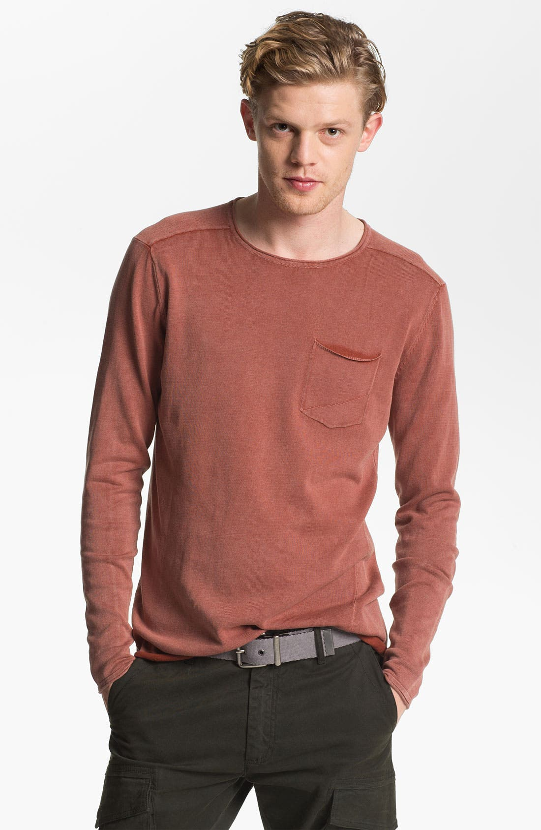 Alternate Image 1 Selected - Zanerobe 'Derek' Long Sleeve Knit Pullover
