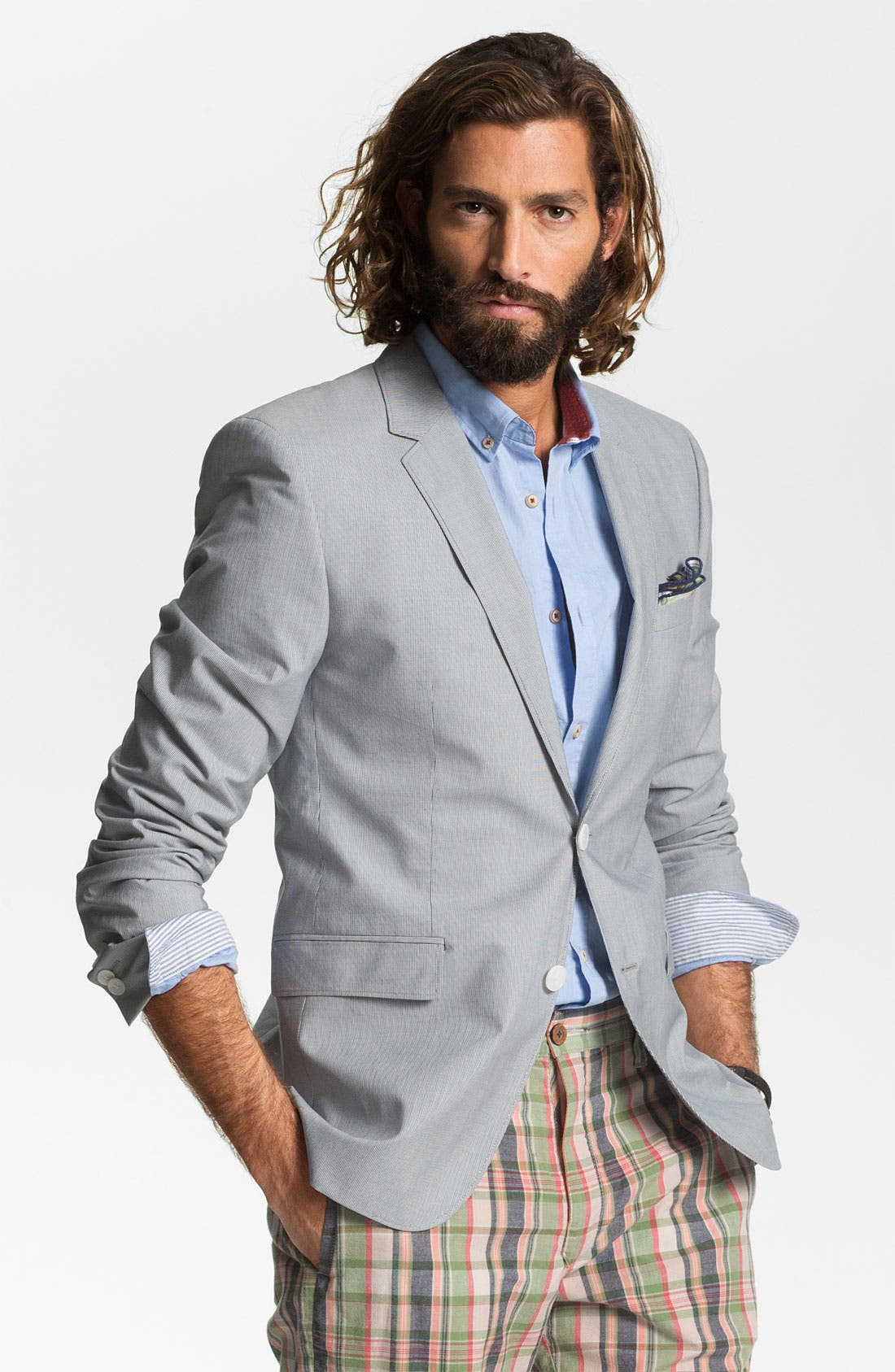 Main Image - HUGO 'Aeris' Trim Fit Blazer (Online Only)