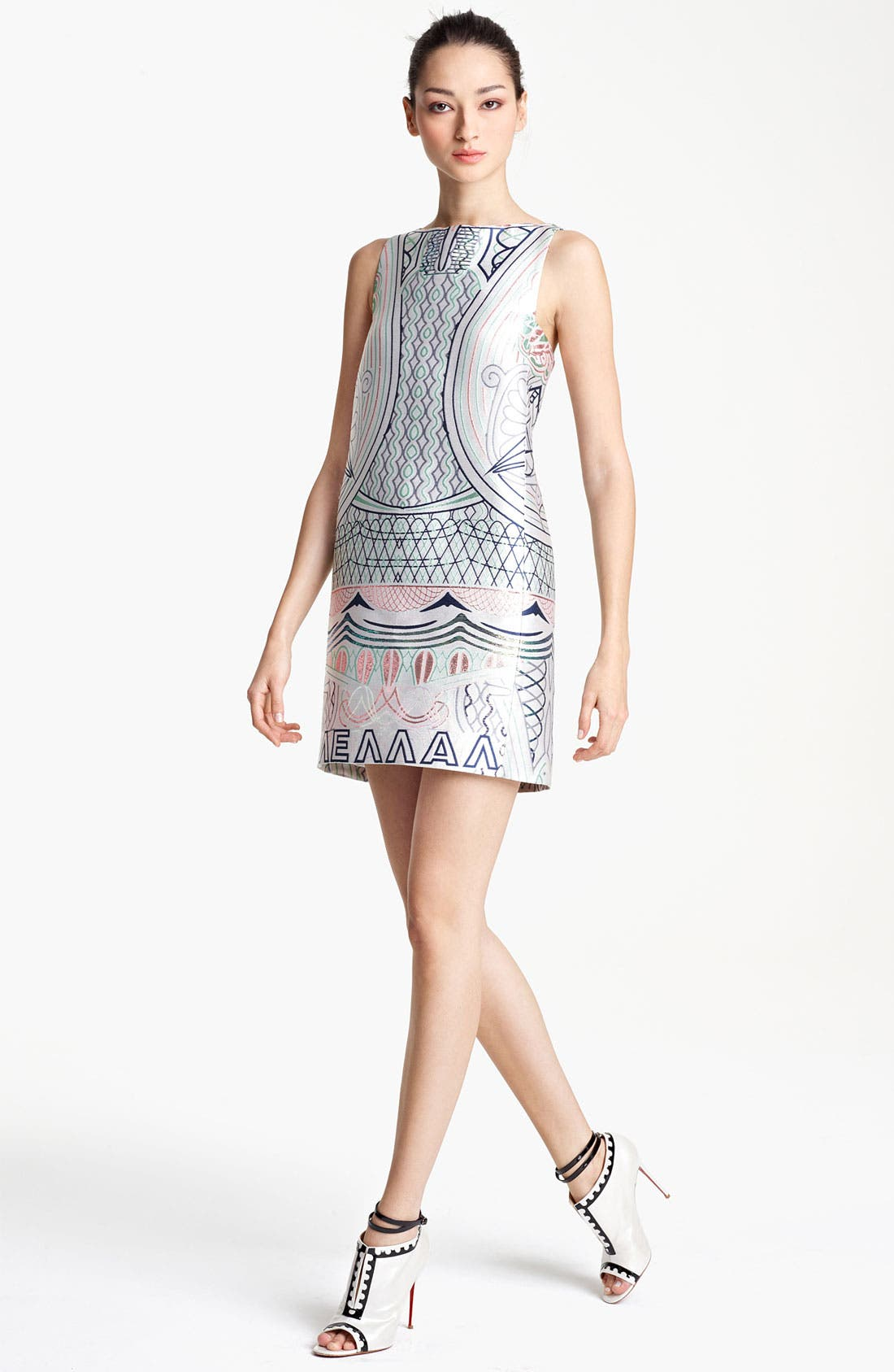 Alternate Image 1 Selected - Mary Katrantzou Jacquard Shift Dress