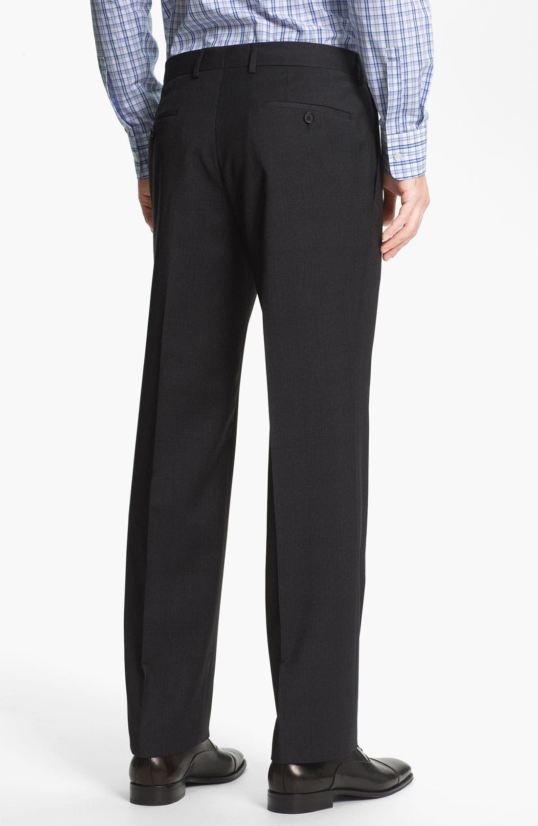 Alternate Image 5  - BOSS Black 'Pasini/Movie' Plaid Wool Suit
