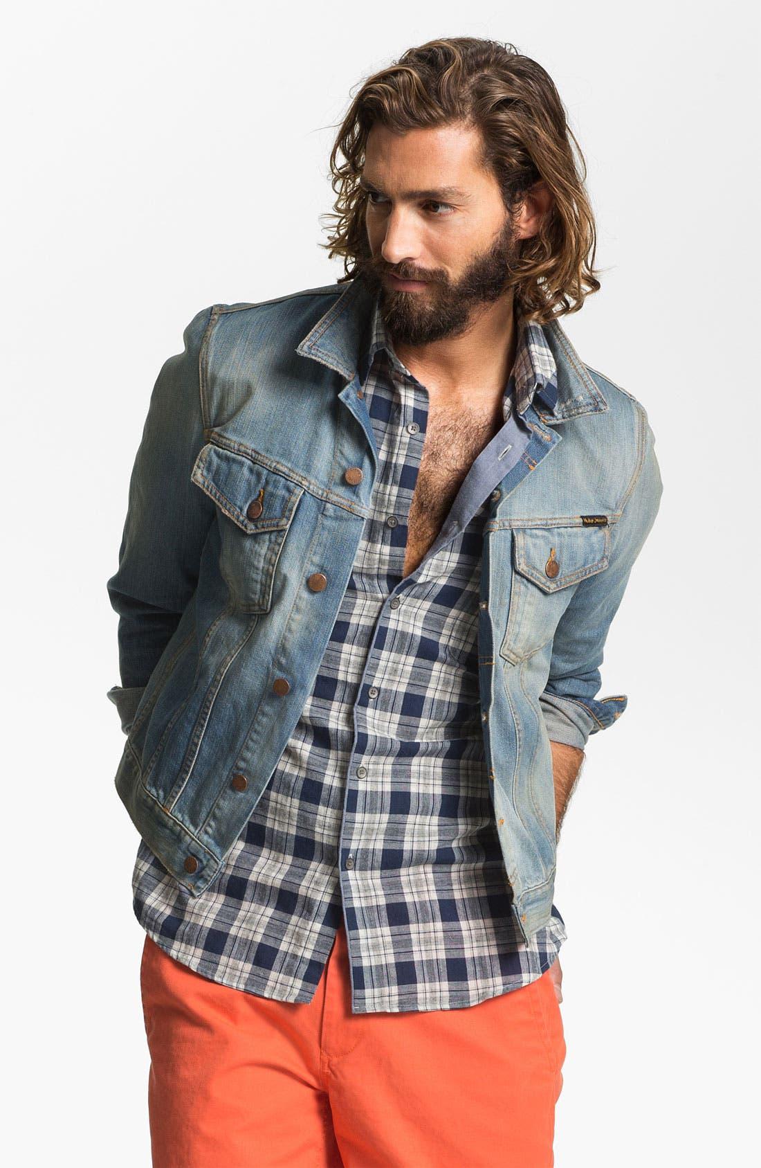 Main Image - Nudie 'Perry' Denim Jacket