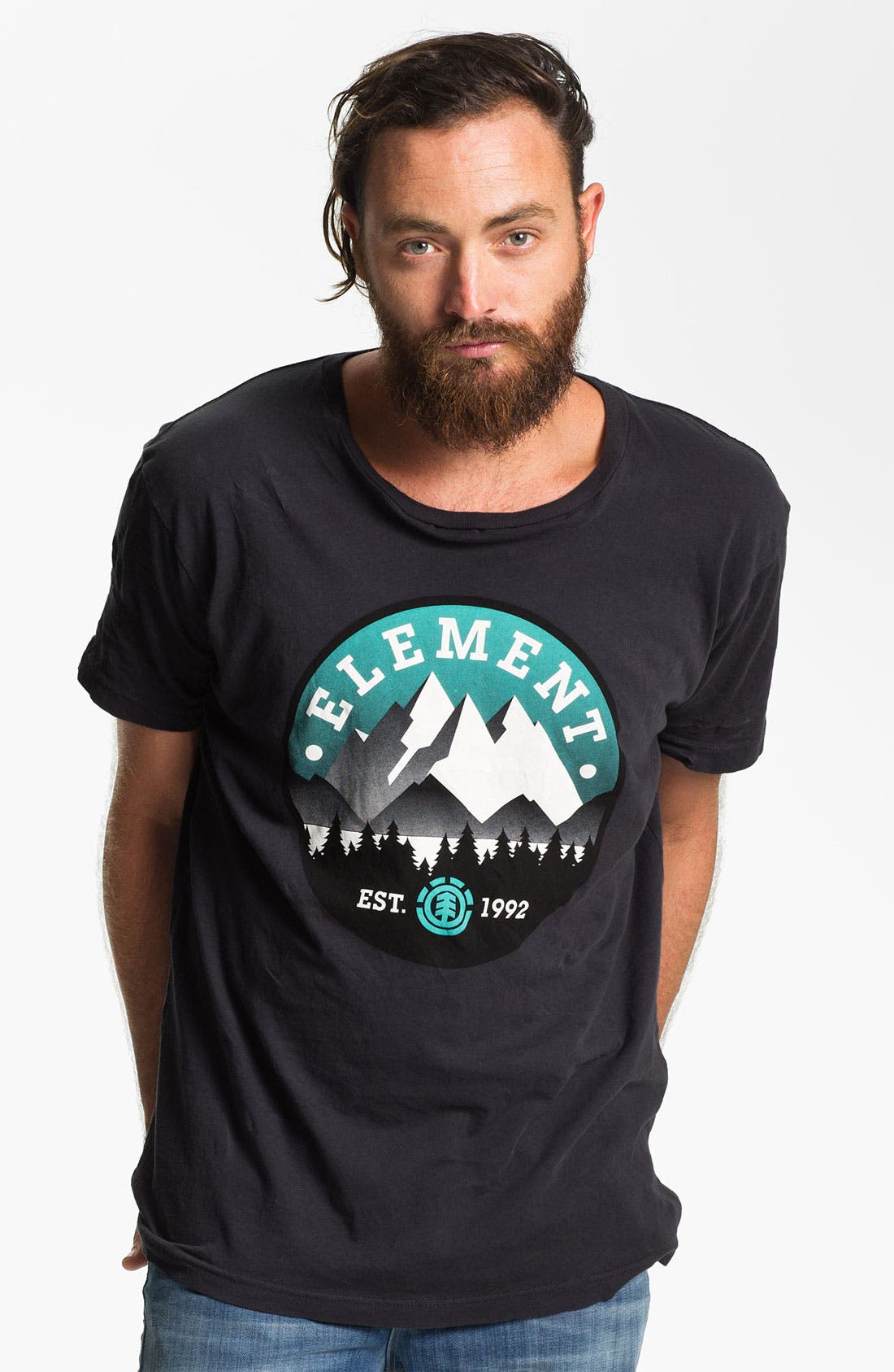 Alternate Image 1 Selected - Element 'Mountain Deco' Graphic T-Shirt