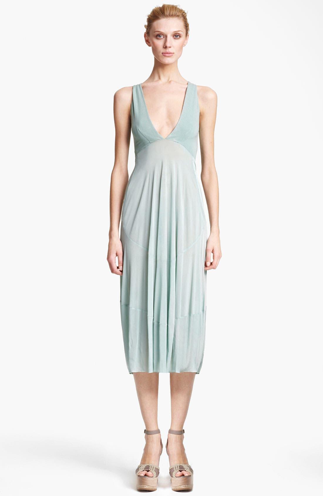Alternate Image 1 Selected - Donna Karan Collection Jersey & Crepe Dress