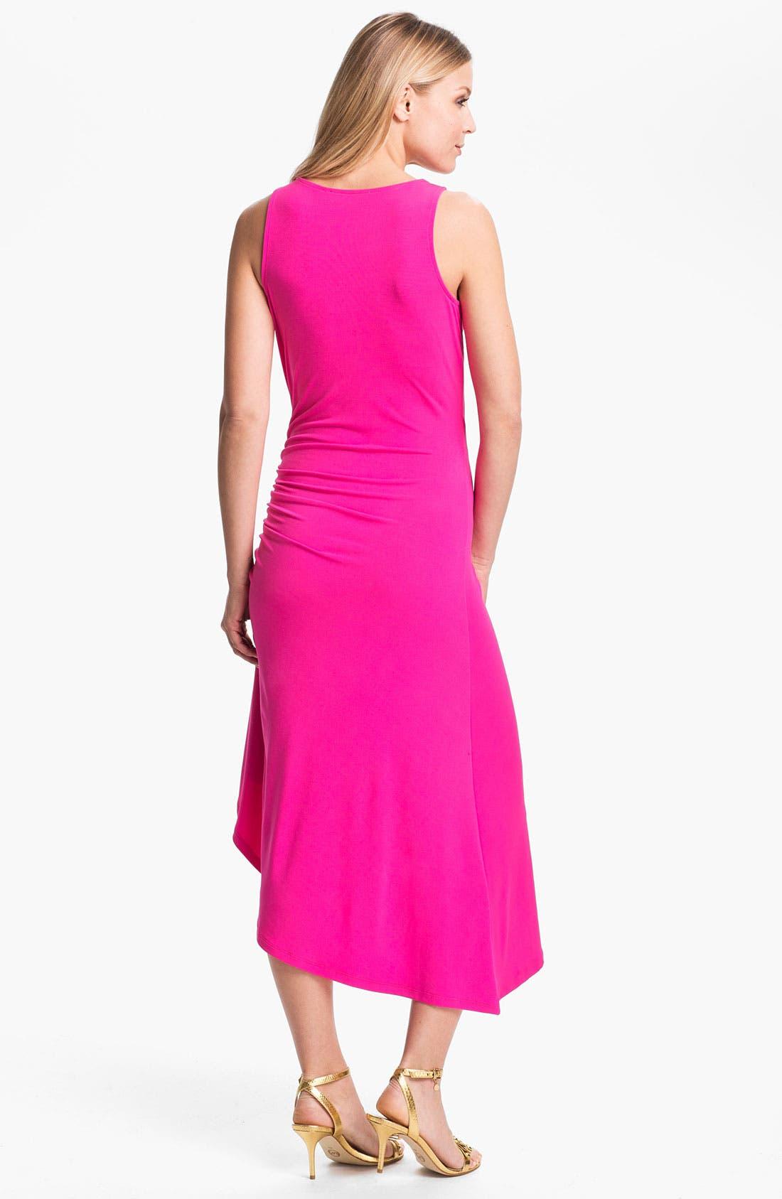 Alternate Image 2  - MICHAEL Michael Kors Asymmetrical Matte Jersey Dress