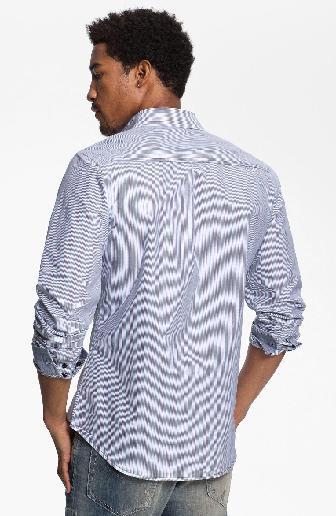 Alternate Image 2  - Descendant of Thieves Multi Stripe Woven Shirt