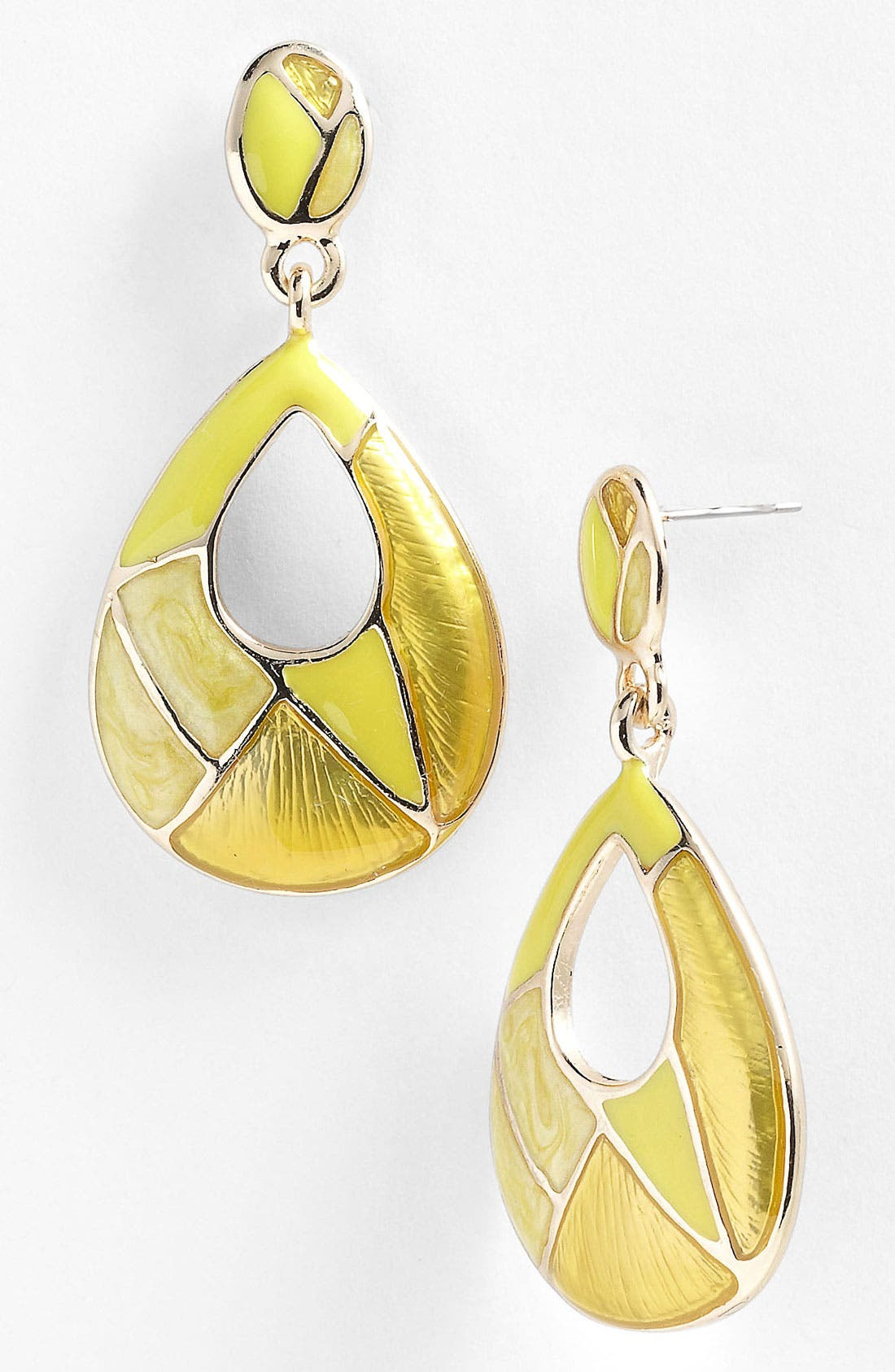 Alternate Image 1 Selected - Nordstrom 'Mosaics' Open Teardrop Earrings