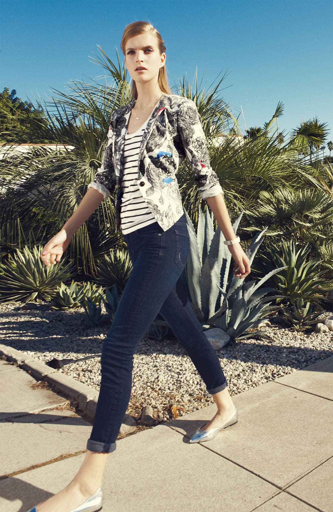 Alternate Image 6  - KUT from the Kloth 'Diana' Skinny Jeans (Exquisite Wash)
