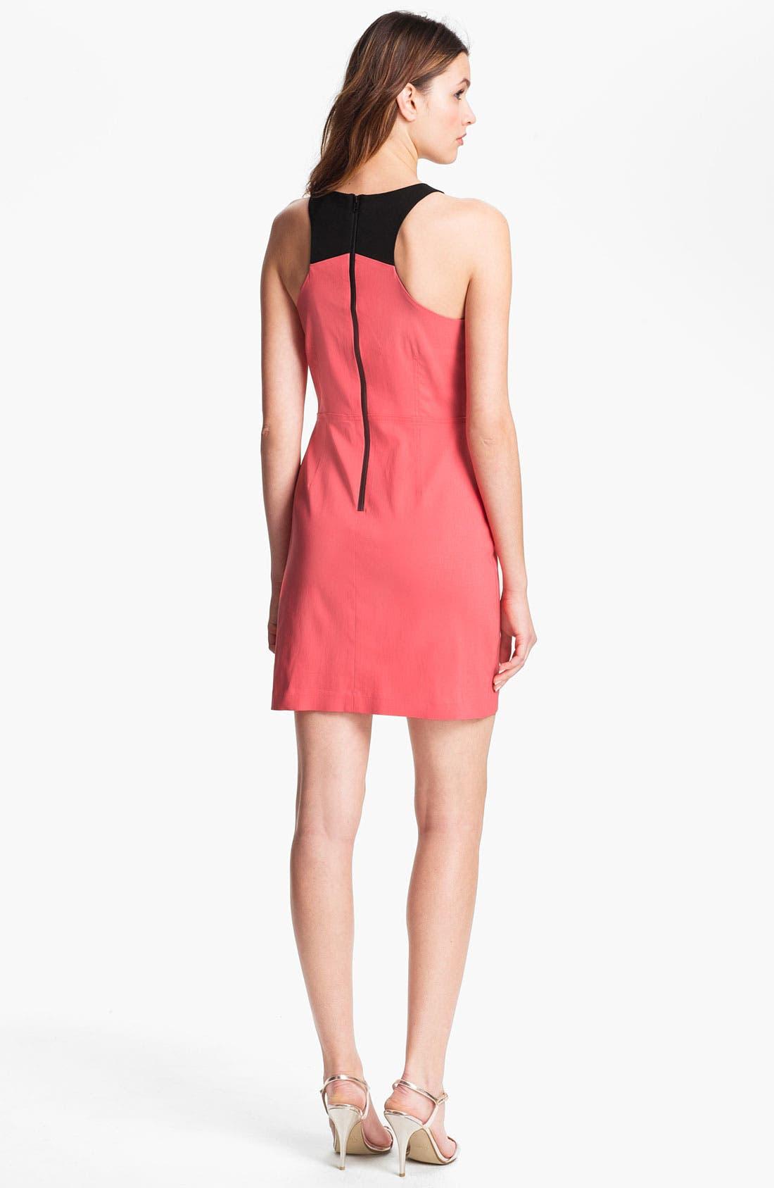 Alternate Image 2  - Betsey Johnson Cutout Detail Sheath Dress