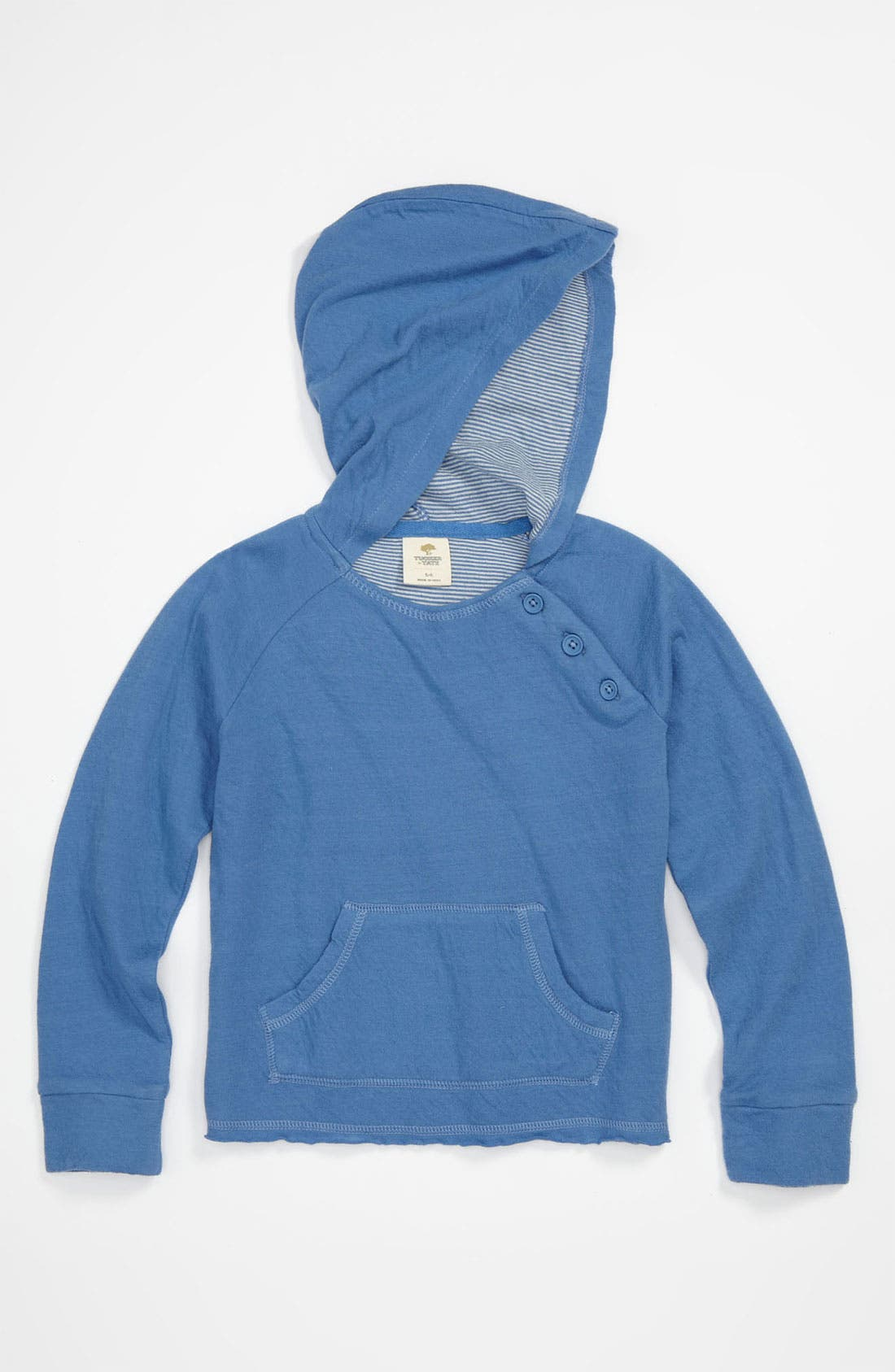 Alternate Image 1 Selected - Tucker + Tate 'Holly' Organic Cotton Hoodie (Little Girls)