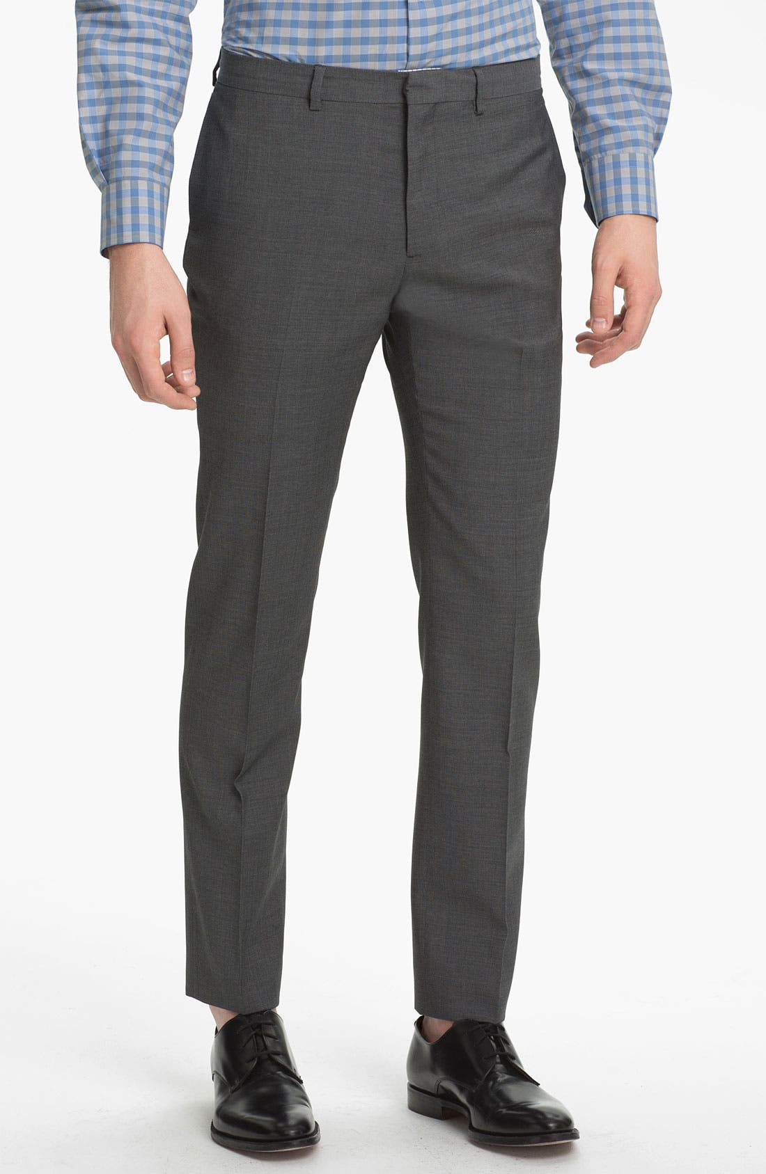 Alternate Image 1 Selected - PS Paul Smith Slim Tapered Fit Wool Trousers