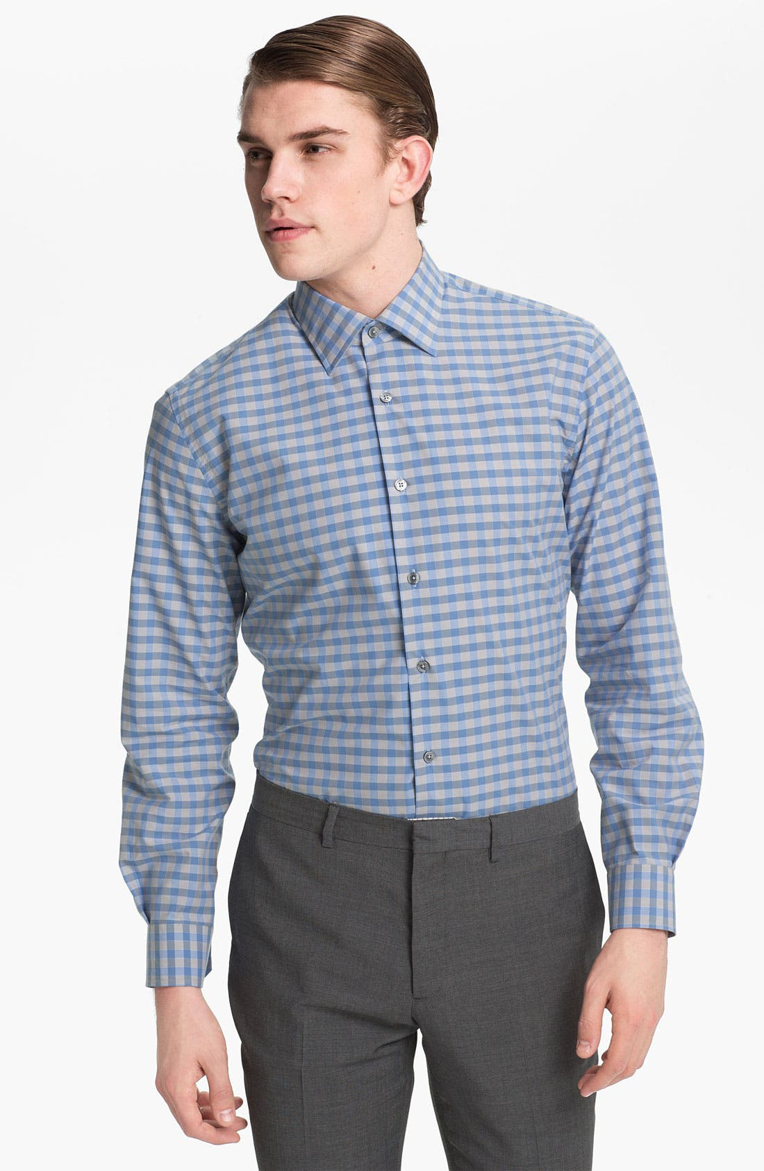 Alternate Image 1 Selected - Paul Smith London Gingham Check Shirt