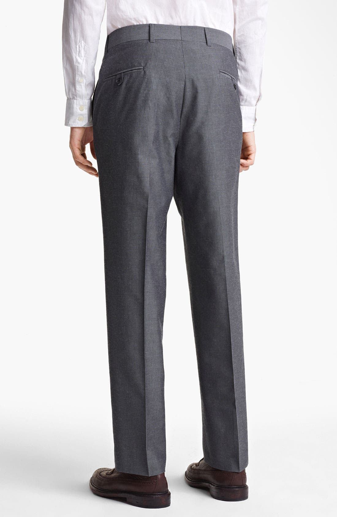 Alternate Image 5  - Billy Reid 'Campbell' Grey Stripe Suit
